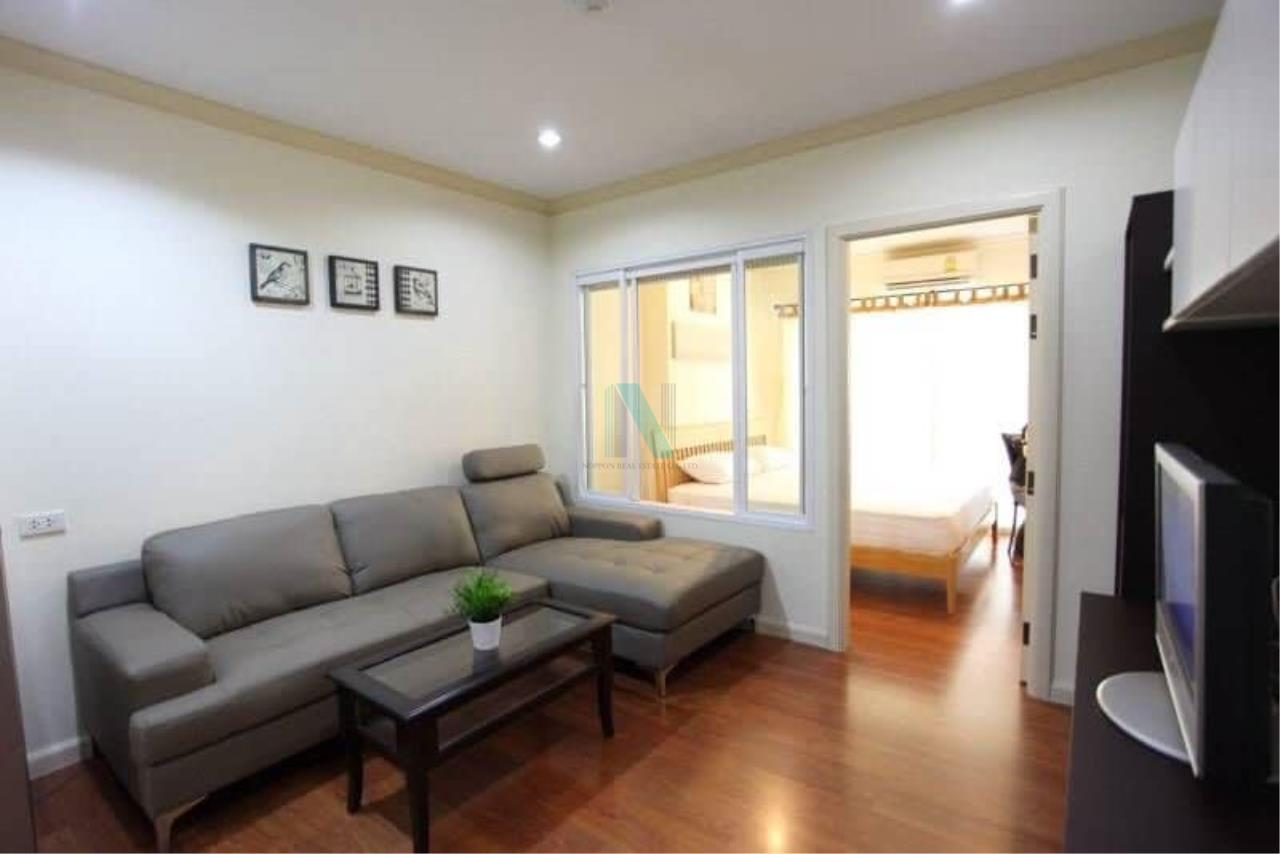 NOPPON REAL ESTATE CO.,LTD. Agency's For rent Condo Grand Park View Asoke 1 bedroom 23rd floor. 1