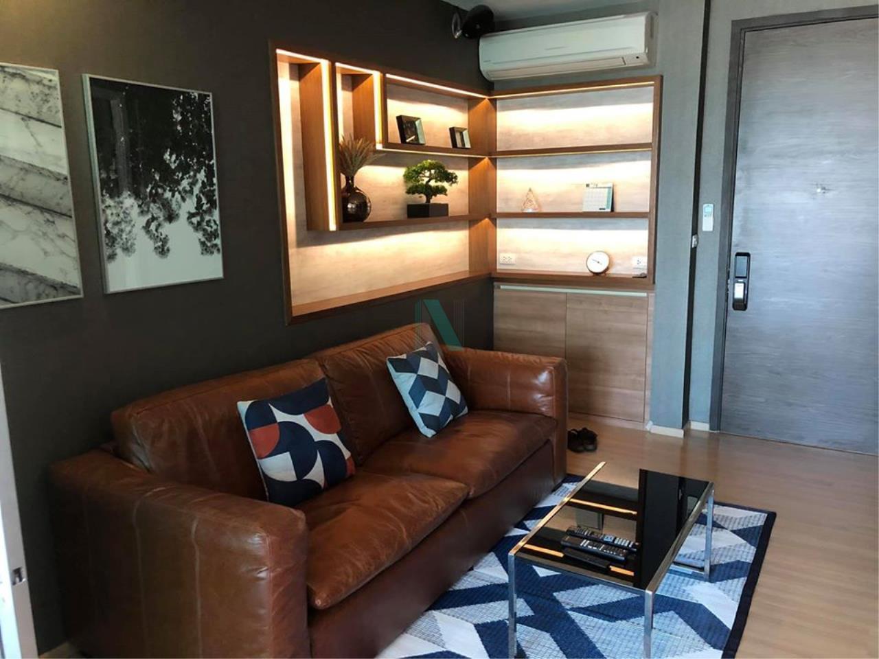NOPPON REAL ESTATE CO.,LTD. Agency's For Rent Rhythm Phahon-Ari 1 bedroom 51st floor near BTS Ari. 1