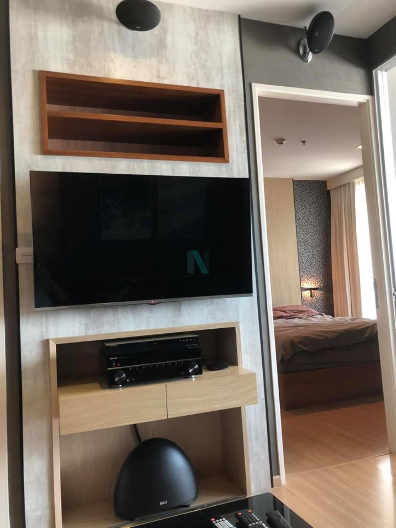 NOPPON REAL ESTATE CO.,LTD. Agency's For Rent Rhythm Phahon-Ari 1 bedroom 51st floor near BTS Ari. 2