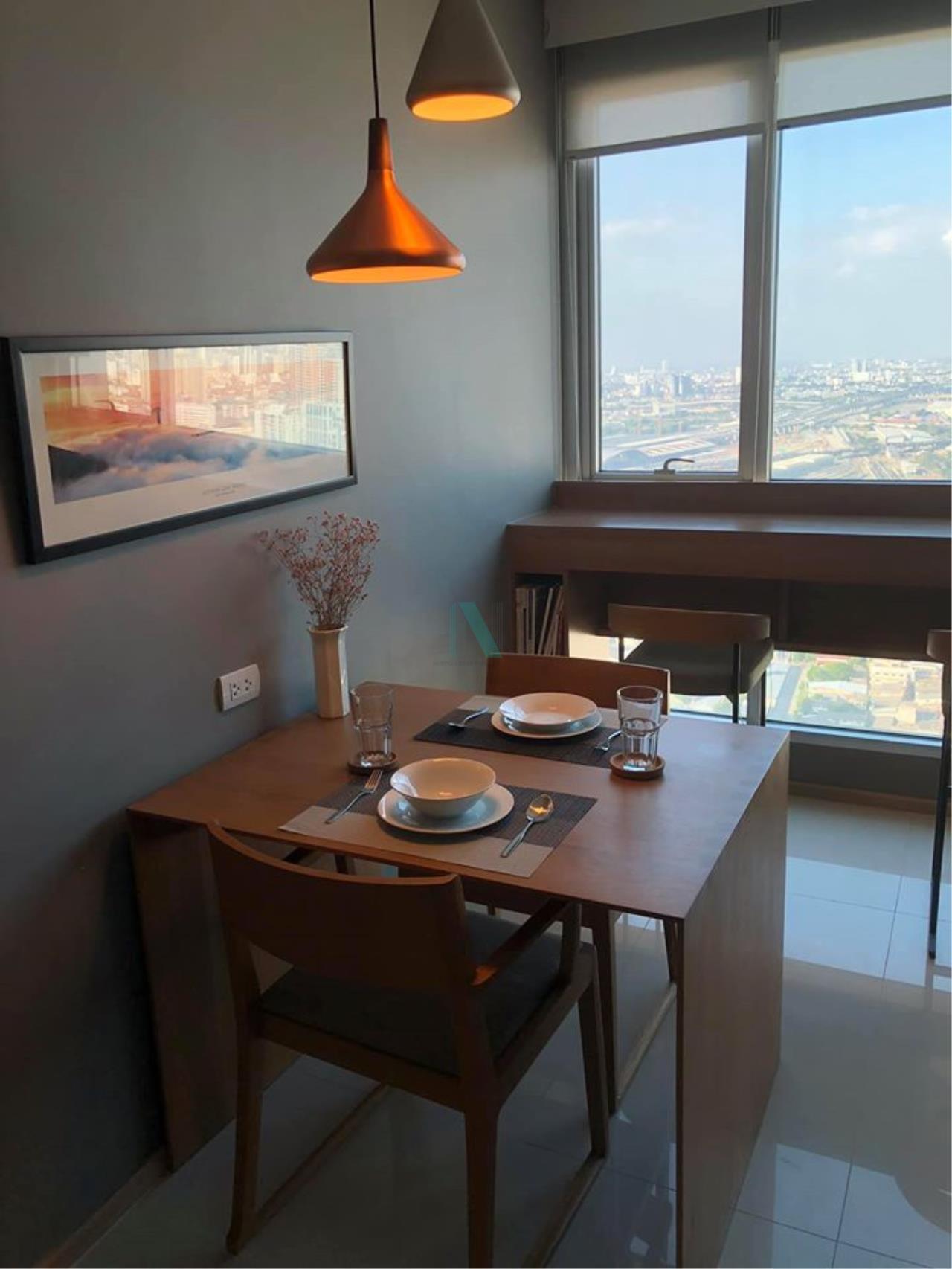 NOPPON REAL ESTATE CO.,LTD. Agency's For Rent Rhythm Phahon-Ari 1 bedroom 51st floor near BTS Ari. 5