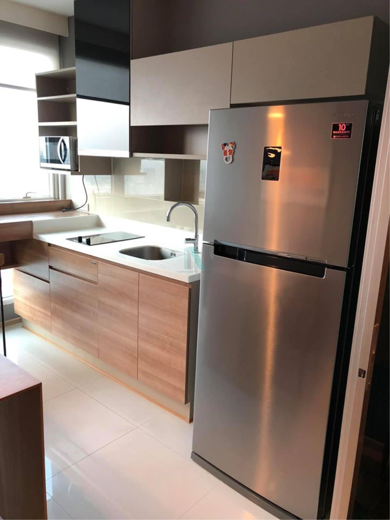 NOPPON REAL ESTATE CO.,LTD. Agency's For Rent Rhythm Phahon-Ari 1 bedroom 51st floor near BTS Ari. 6