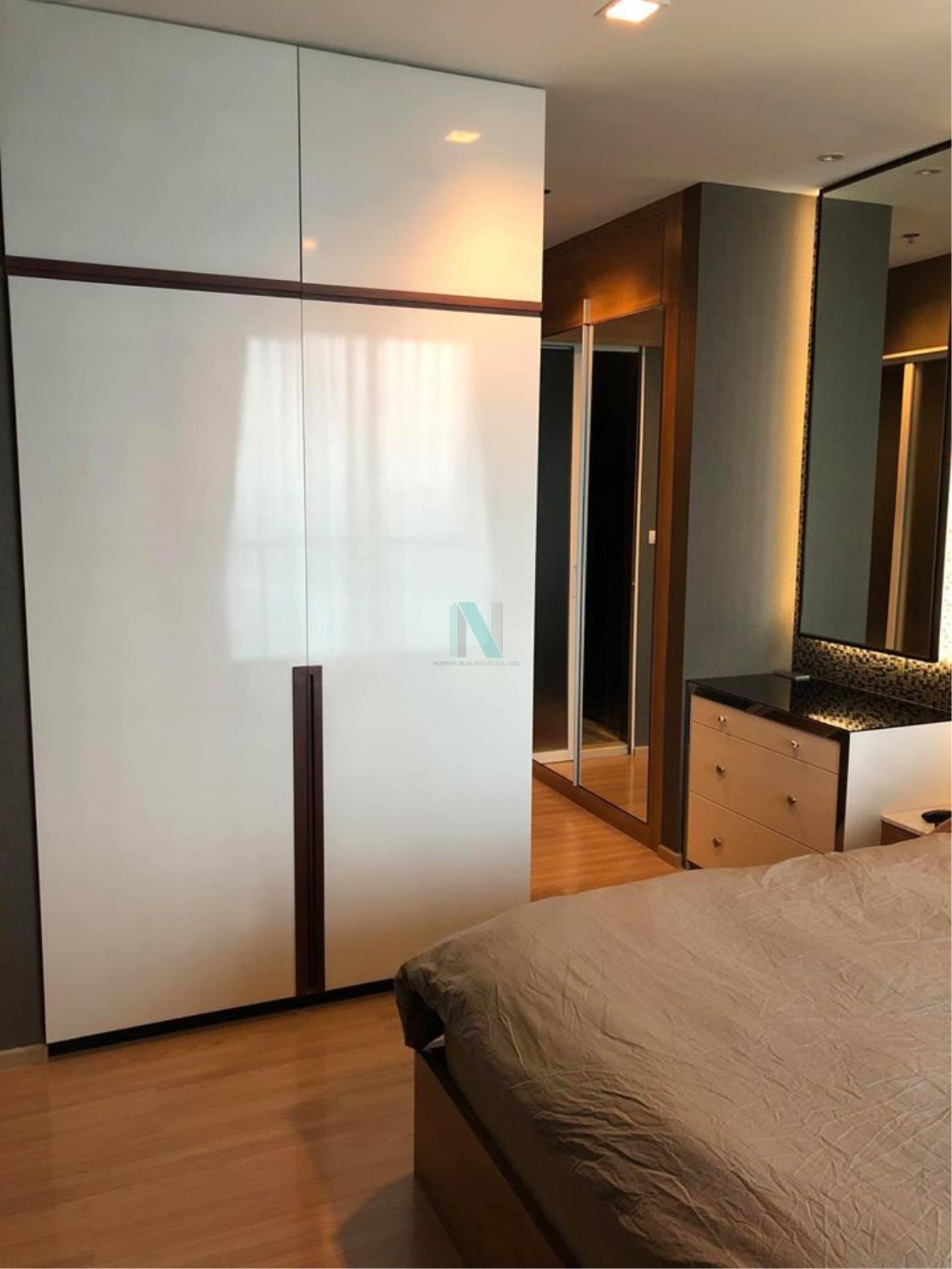 NOPPON REAL ESTATE CO.,LTD. Agency's For Rent Rhythm Phahon-Ari 1 bedroom 51st floor near BTS Ari. 8