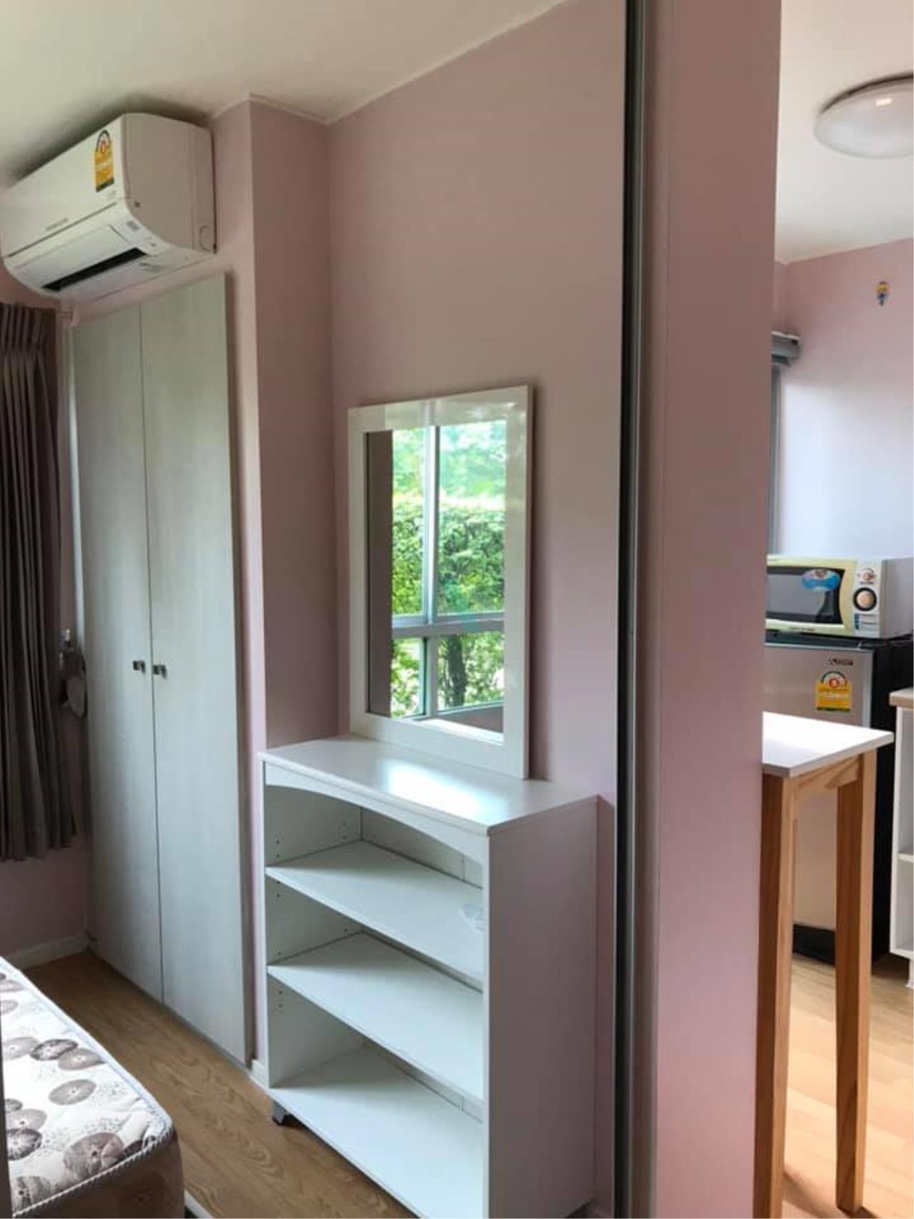 NOPPON REAL ESTATE CO.,LTD. Agency's For rent Lumpini Ville Onnut-Ladkrabang 1 bedroom 1st floor Building C. 3
