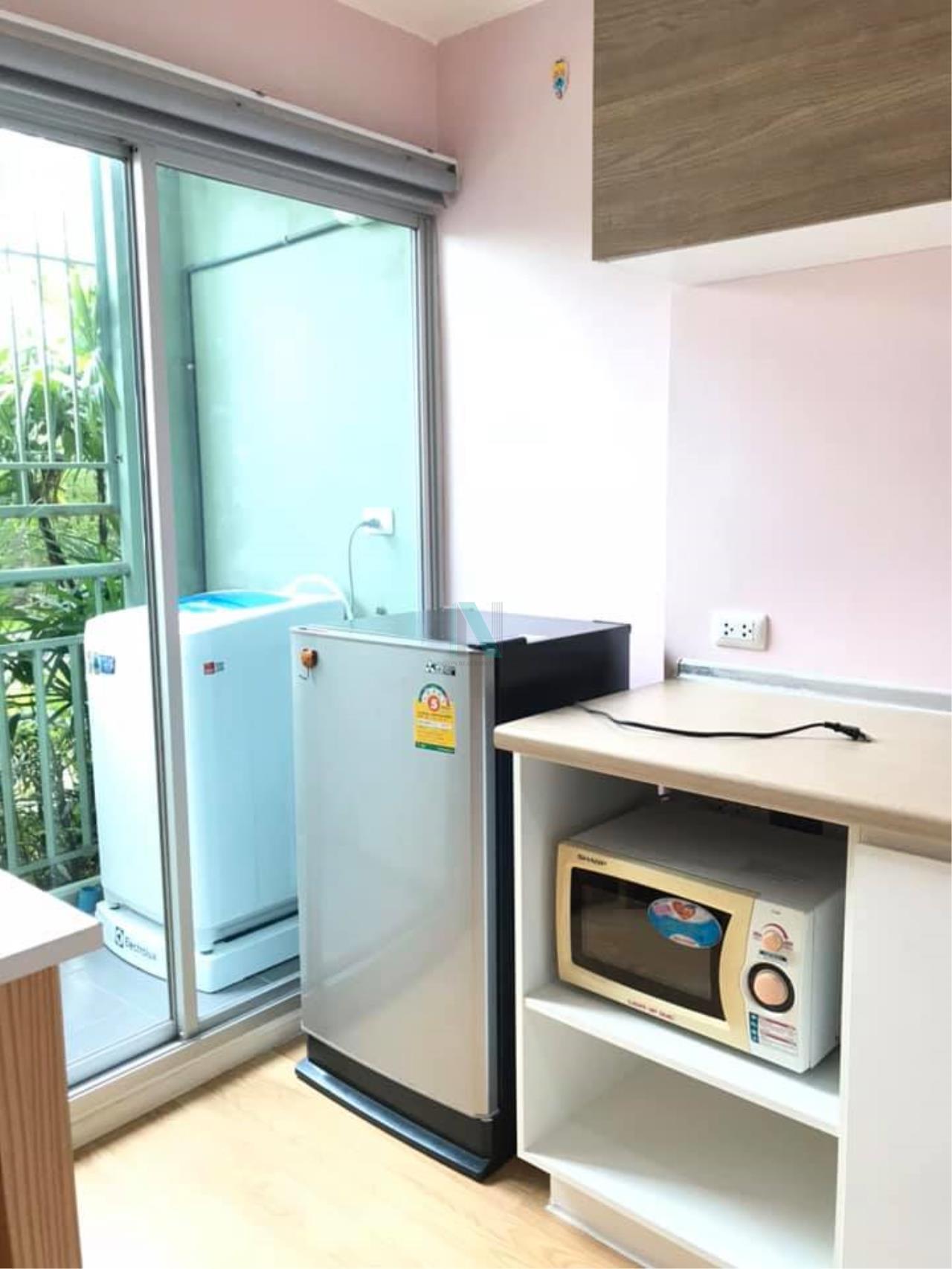 NOPPON REAL ESTATE CO.,LTD. Agency's For rent Lumpini Ville Onnut-Ladkrabang 1 bedroom 1st floor Building C. 8