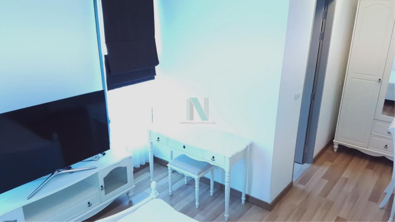 NOPPON REAL ESTATE CO.,LTD. Agency's For rent Ideo Blucove Sukhumvit 2 bedrooms 14th floor Building A. 2