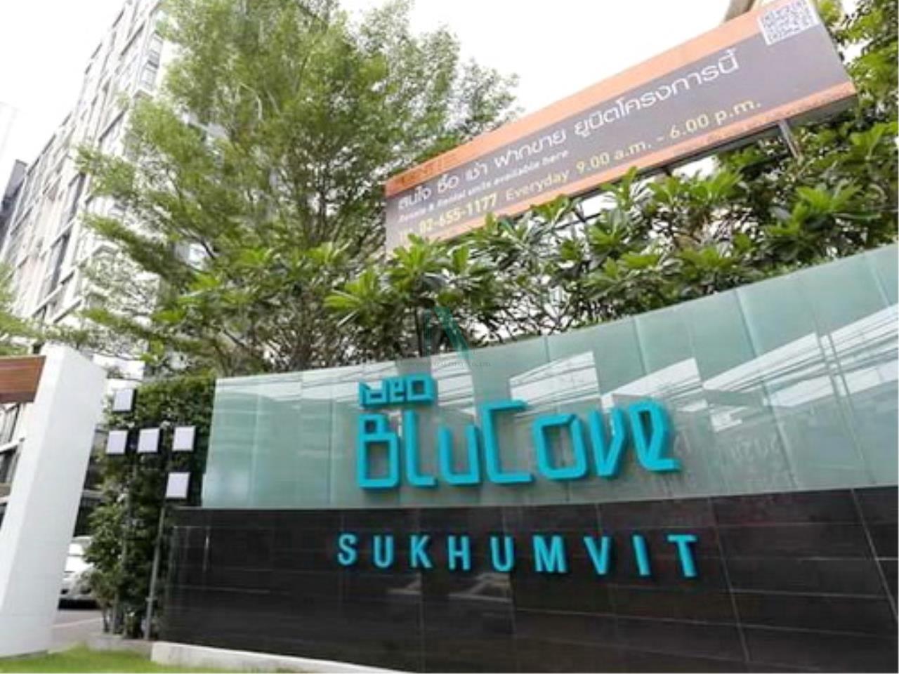 NOPPON REAL ESTATE CO.,LTD. Agency's For rent Ideo Blucove Sukhumvit 2 bedrooms 14th floor Building A. 8