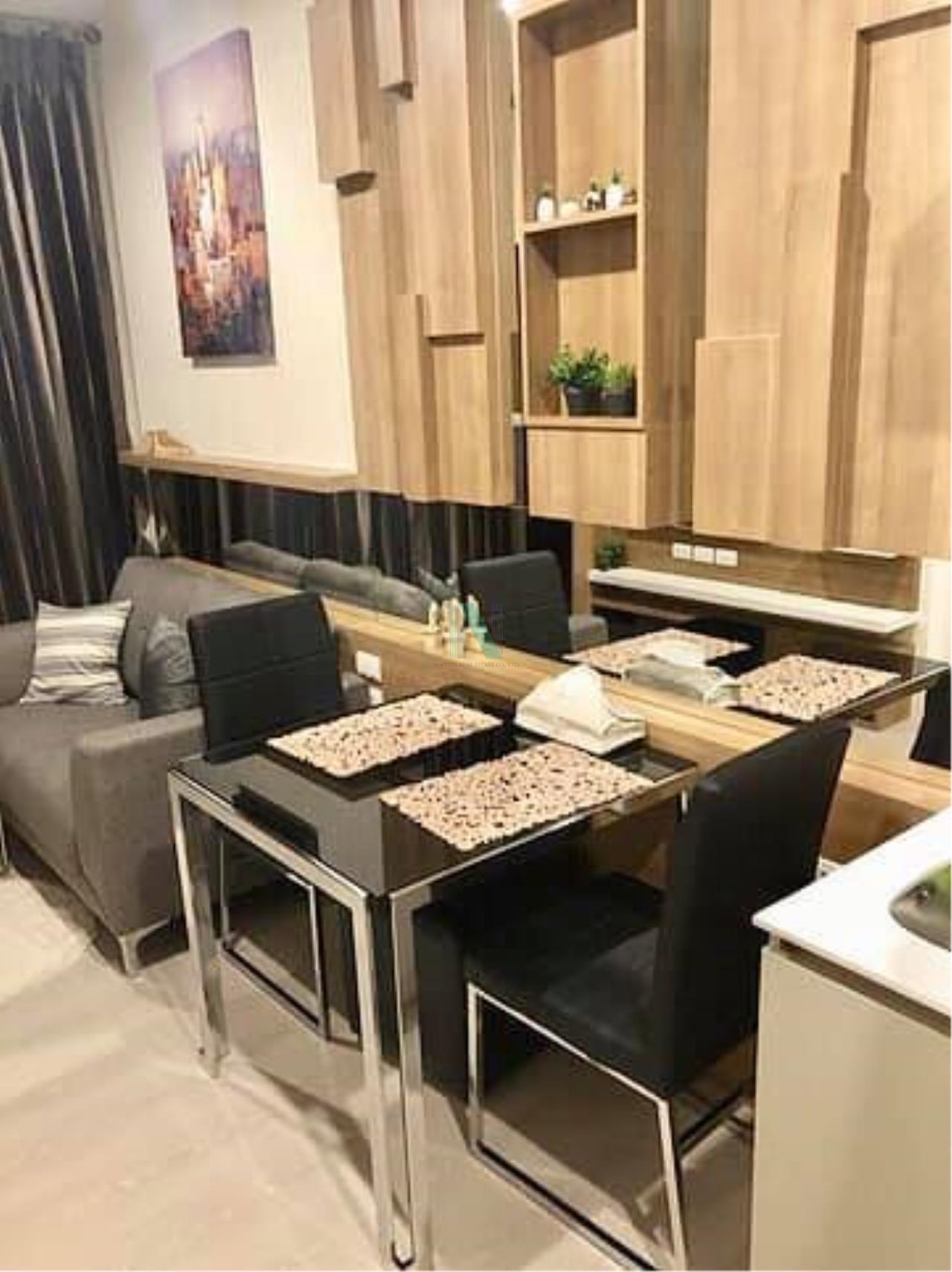 NOPPON REAL ESTATE CO.,LTD. Agency's For Rent The Niche Pride Thonglor-Phetchaburi 1 Bedroom 30th Floor. 5
