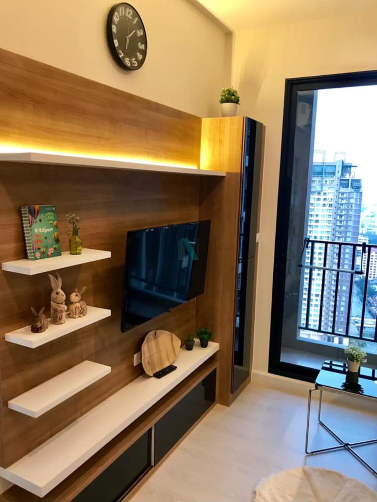 NOPPON REAL ESTATE CO.,LTD. Agency's For Rent The Niche Pride Thonglor-Phetchaburi 1 Bedroom 30th Floor. 8
