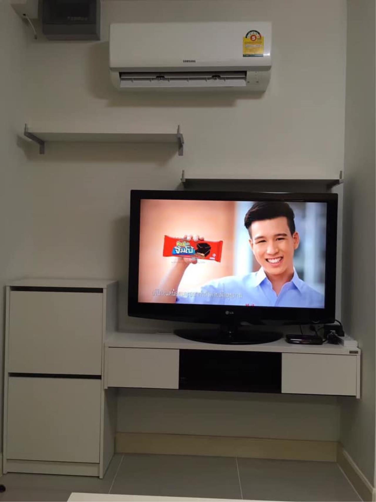 NOPPON REAL ESTATE CO.,LTD. Agency's For Rent LIB CONDO RAMKHAENG 43/1 1 bedroom 7th floor. 5