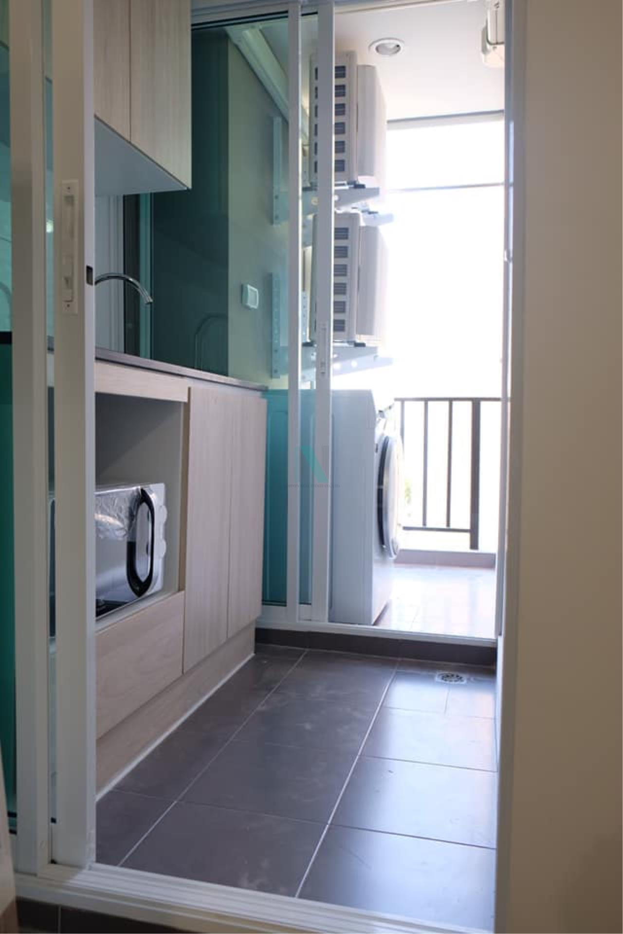 NOPPON REAL ESTATE CO.,LTD. Agency's For rent Regent Home Sukhumvit 97/1 1 bedroom 5th floor Building C. 3