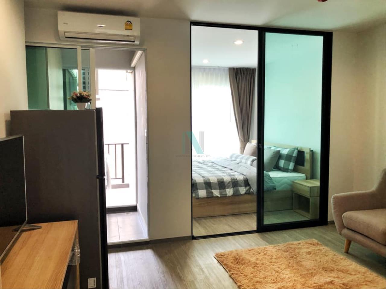 NOPPON REAL ESTATE CO.,LTD. Agency's For rent Regent Home Sukhumvit 97/1 1 bedroom 5th floor Building C. 6