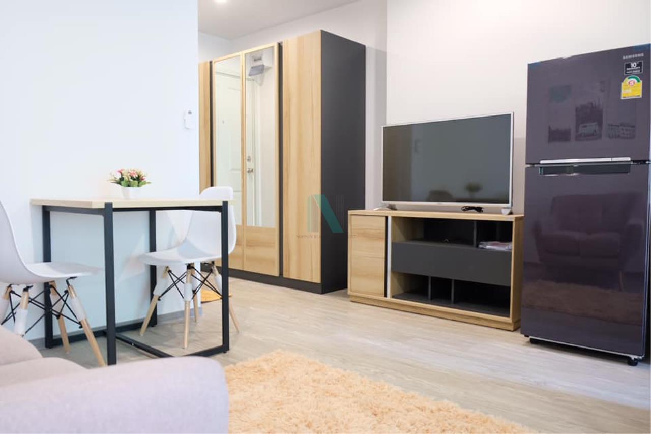 NOPPON REAL ESTATE CO.,LTD. Agency's For rent Regent Home Sukhumvit 97/1 1 bedroom 5th floor Building B. 4
