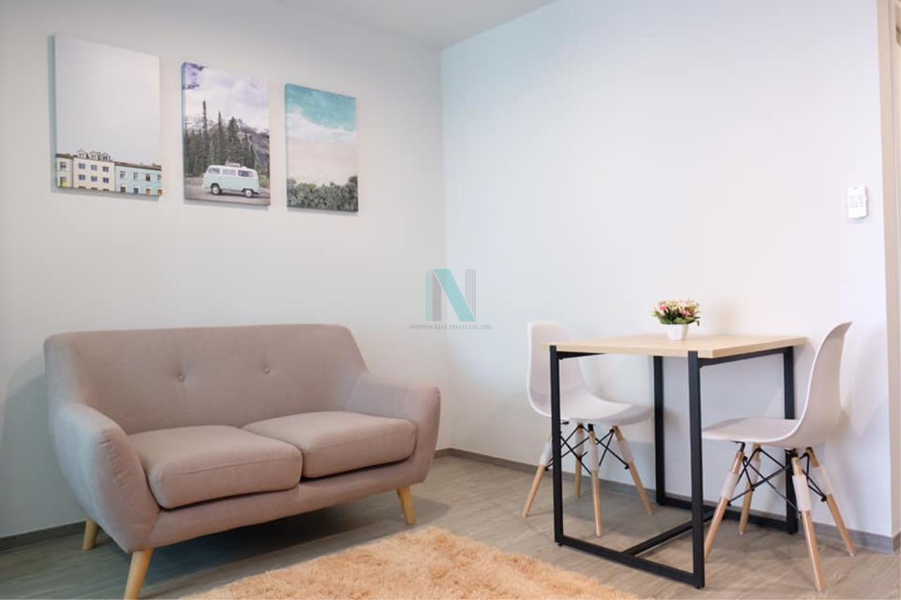 NOPPON REAL ESTATE CO.,LTD. Agency's For rent Regent Home Sukhumvit 97/1 1 bedroom 5th floor Building B. 6