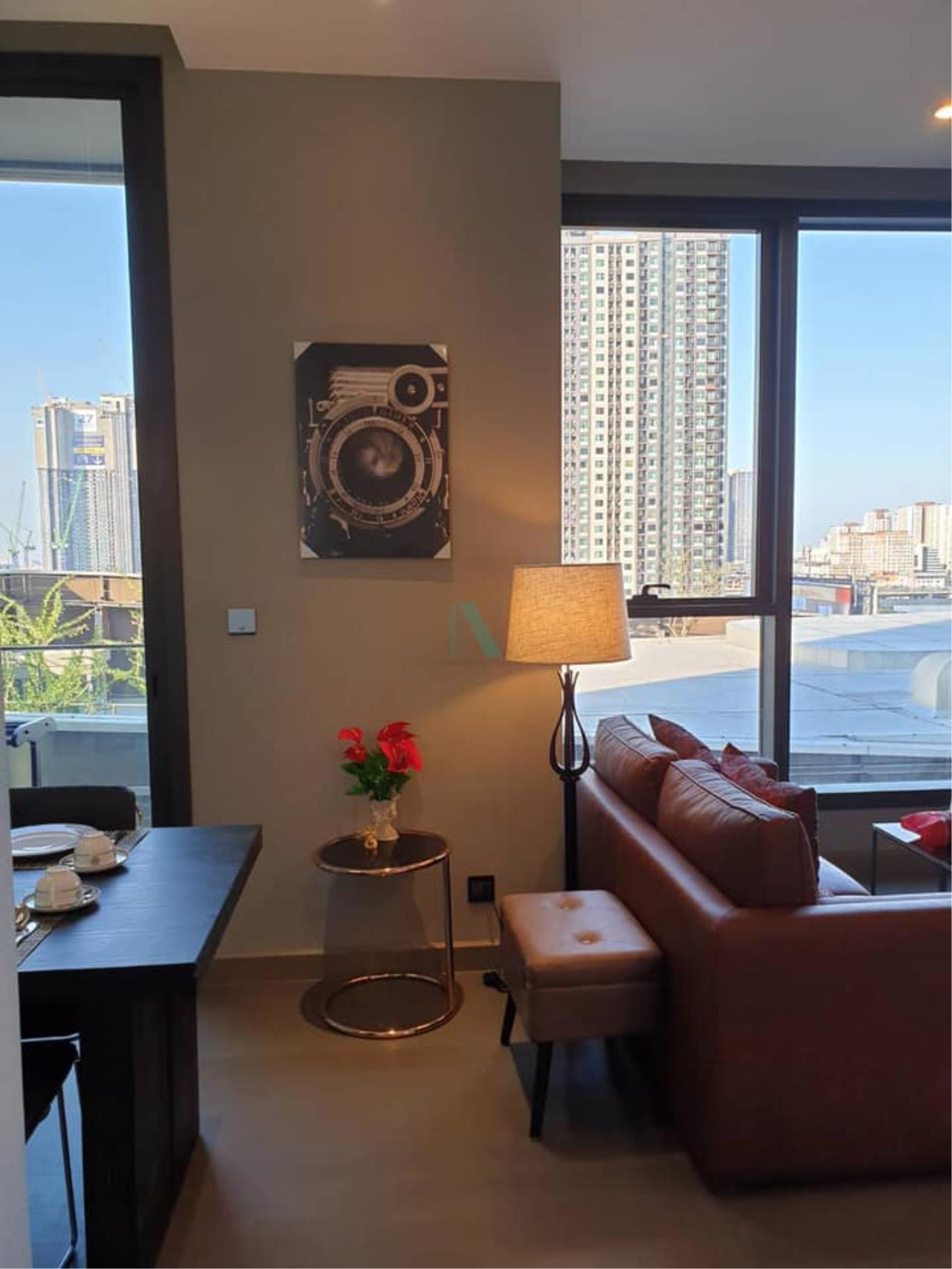 NOPPON REAL ESTATE CO.,LTD. Agency's For rent THE ESSE AT SINGHA COMPLEX 1 bedroom 9th floor . 6