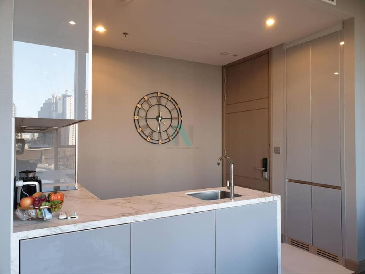 NOPPON REAL ESTATE CO.,LTD. Agency's For rent THE ESSE AT SINGHA COMPLEX 1 bedroom 9th floor . 8