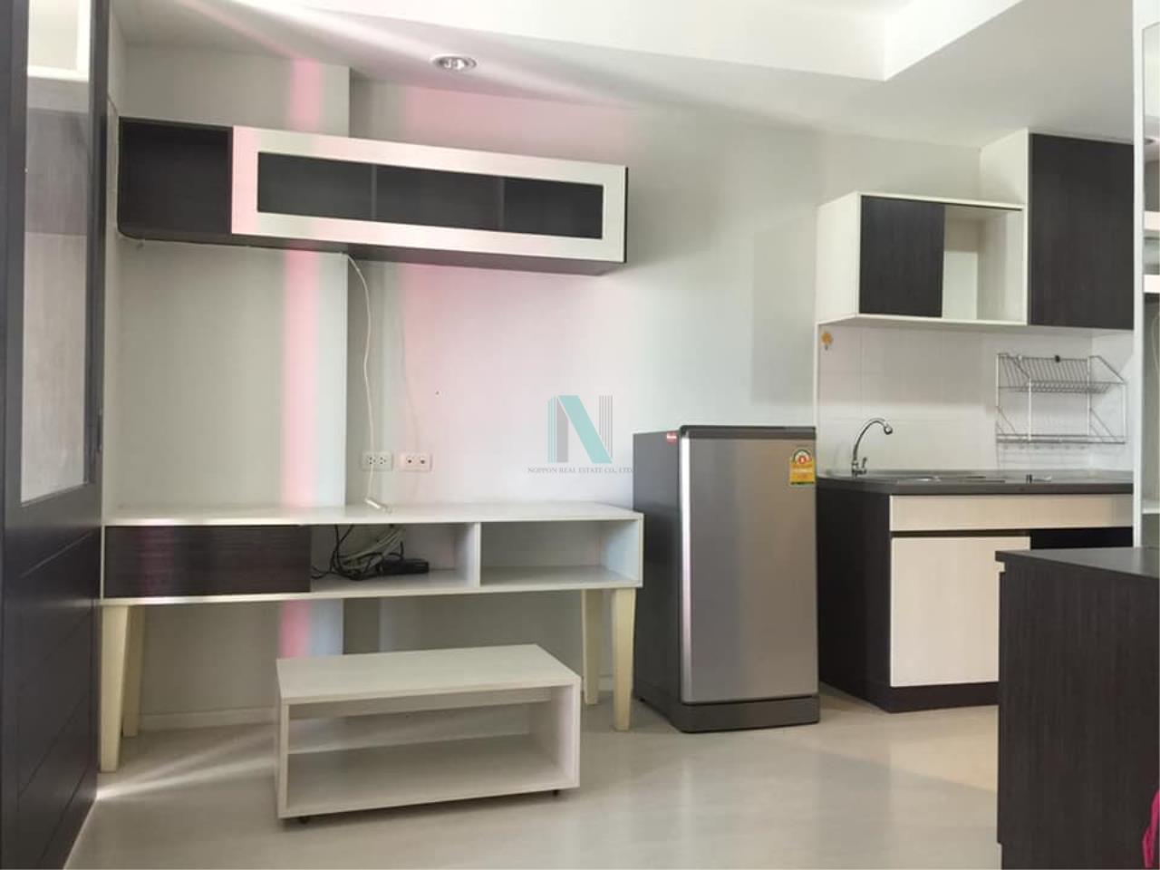 NOPPON REAL ESTATE CO.,LTD. Agency's For rent THE LOG 3 SUKHUMVIT 101/1 1 bedroom 4th floor Berry Building. 2