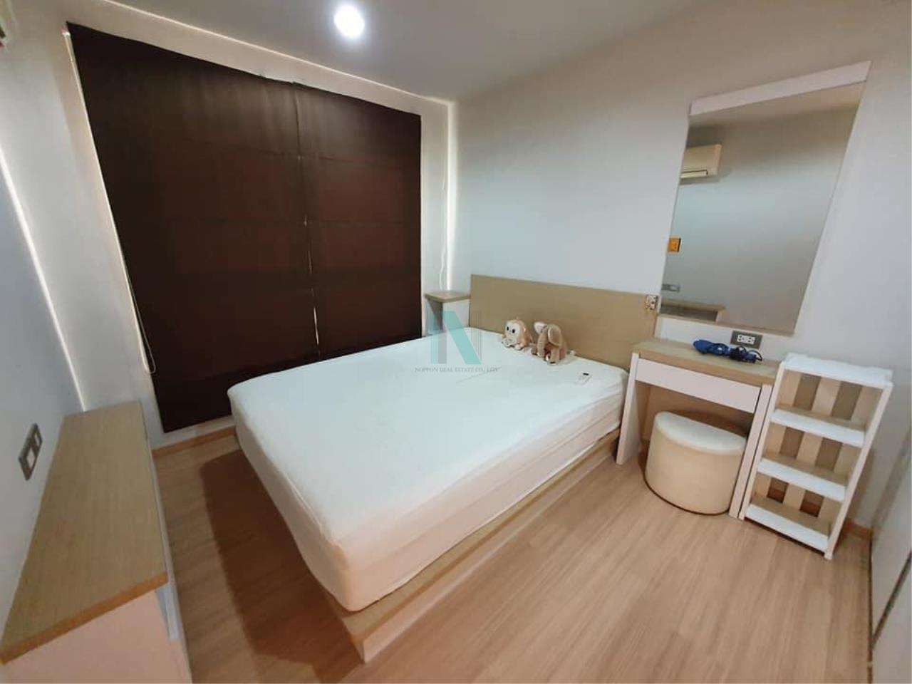 NOPPON REAL ESTATE CO.,LTD.  Agency's For rent RICH PARK @ BANGSON STATION 1 bedroom 20th floor. 4