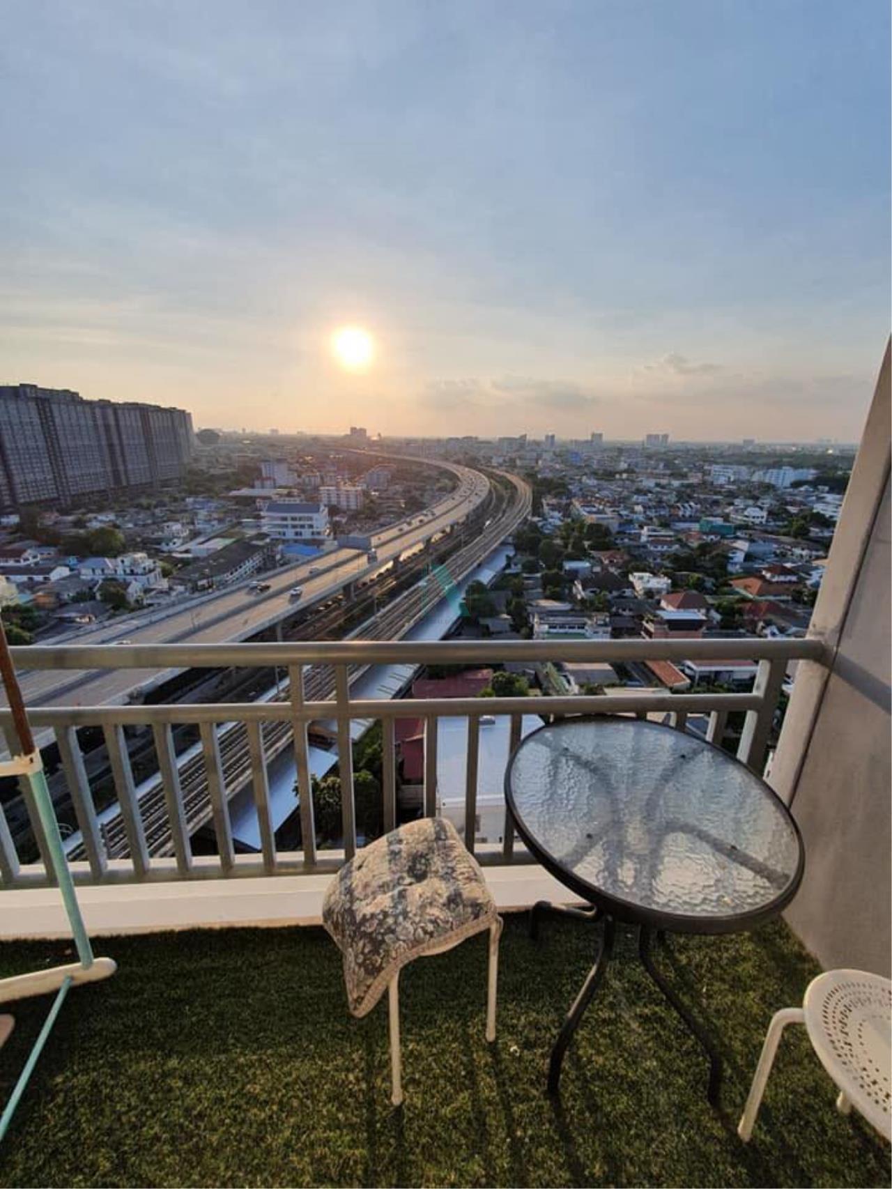 NOPPON REAL ESTATE CO.,LTD.  Agency's For rent RICH PARK @ BANGSON STATION 1 bedroom 20th floor. 6
