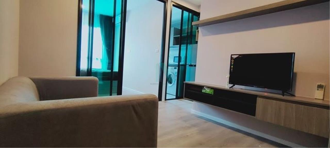 NOPPON REAL ESTATE CO.,LTD.  Agency's For rent Notting Hill Sukhumvit 105 1 bedroom 4th floor Building B. 1