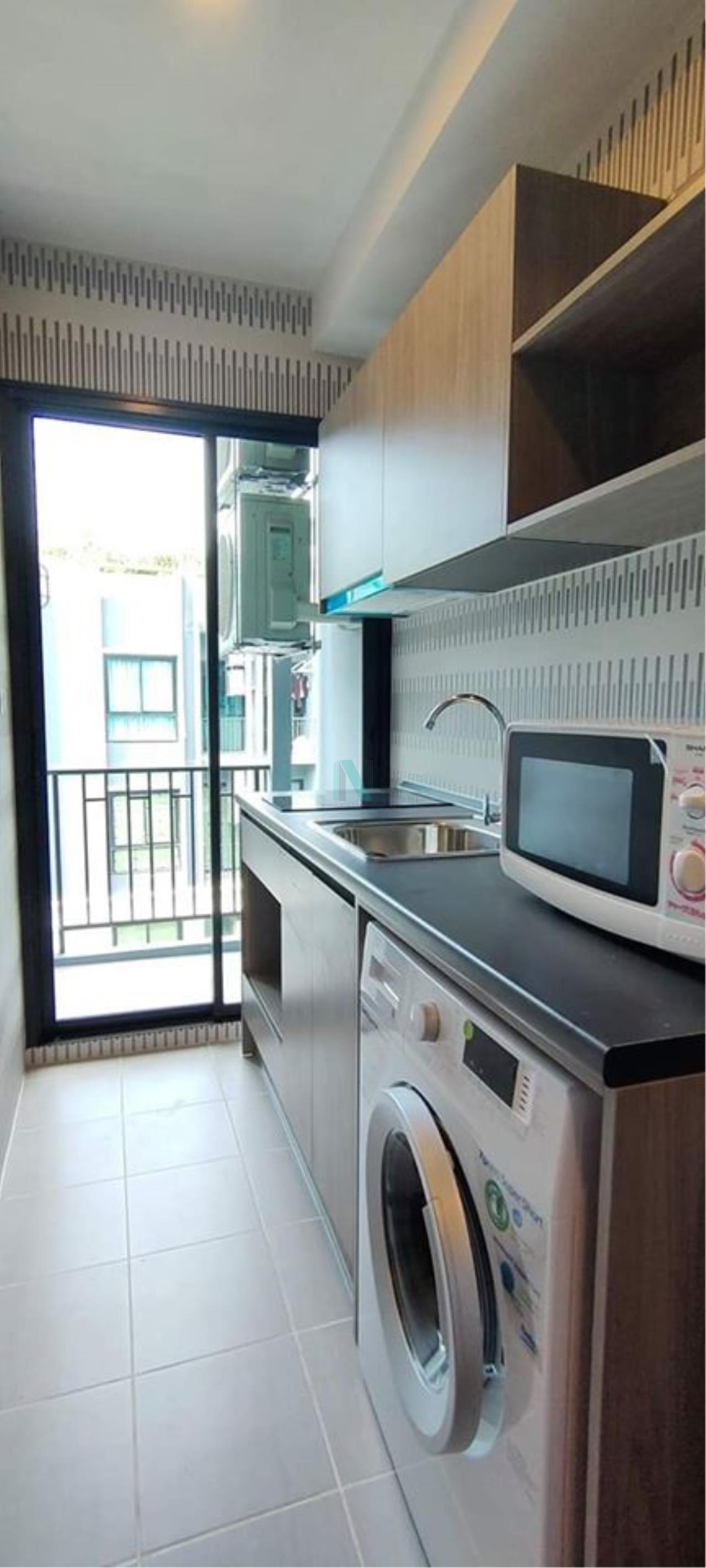 NOPPON REAL ESTATE CO.,LTD.  Agency's For rent Notting Hill Sukhumvit 105 1 bedroom 4th floor Building B. 3