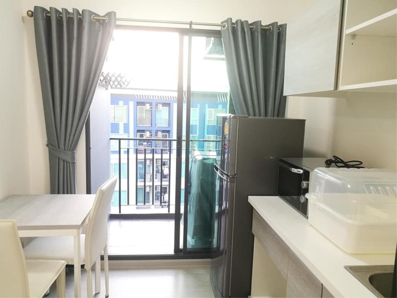 NOPPON REAL ESTATE CO.,LTD.  Agency's For rent Grene Condo Donmueang-Songprapa 1 bedroom 8th floor building A. 7