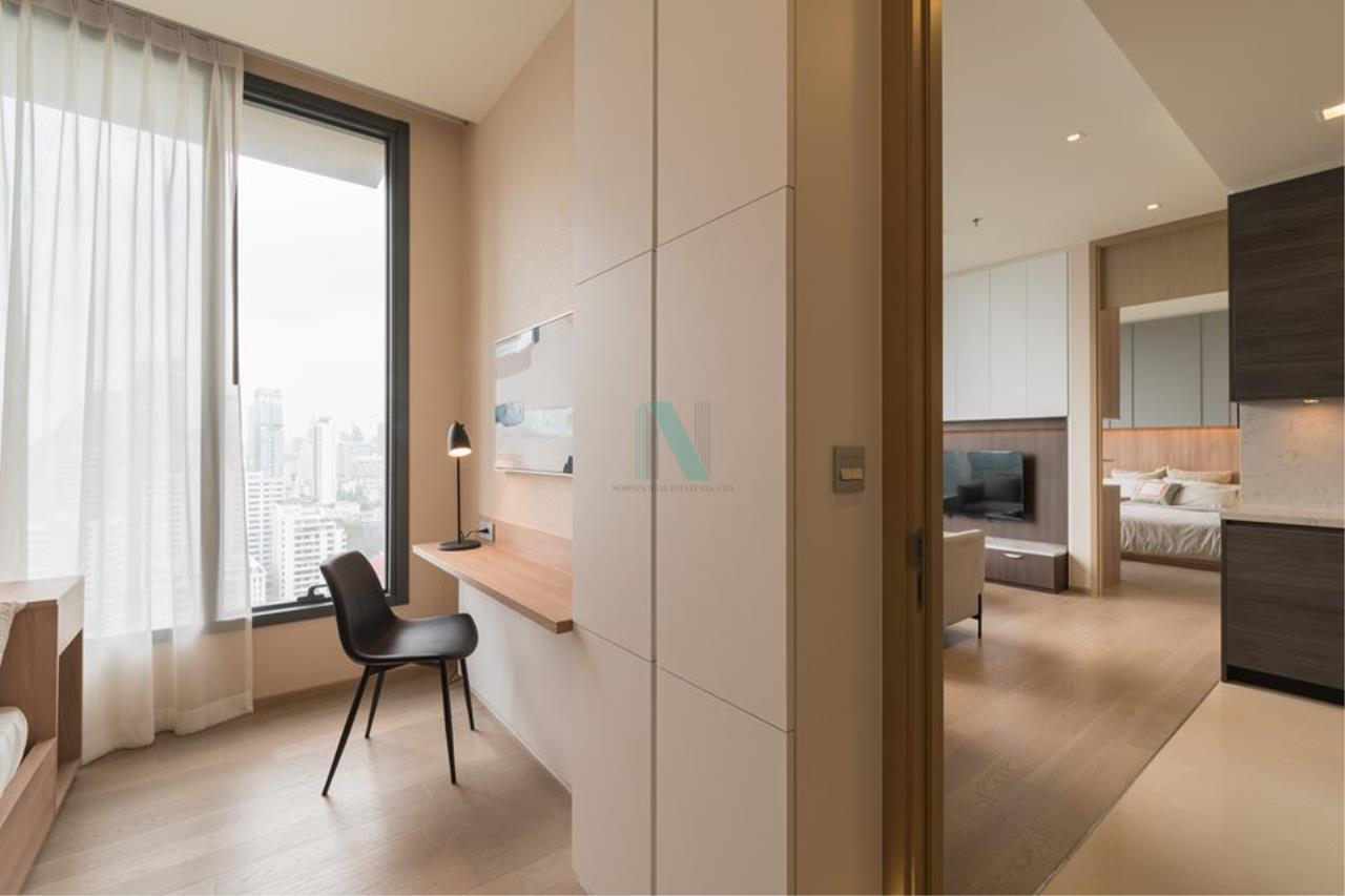 NOPPON REAL ESTATE CO.,LTD.  Agency's For rent The Esse Asoke 2 bedrooms 21st floor near BTS Asoke. 5