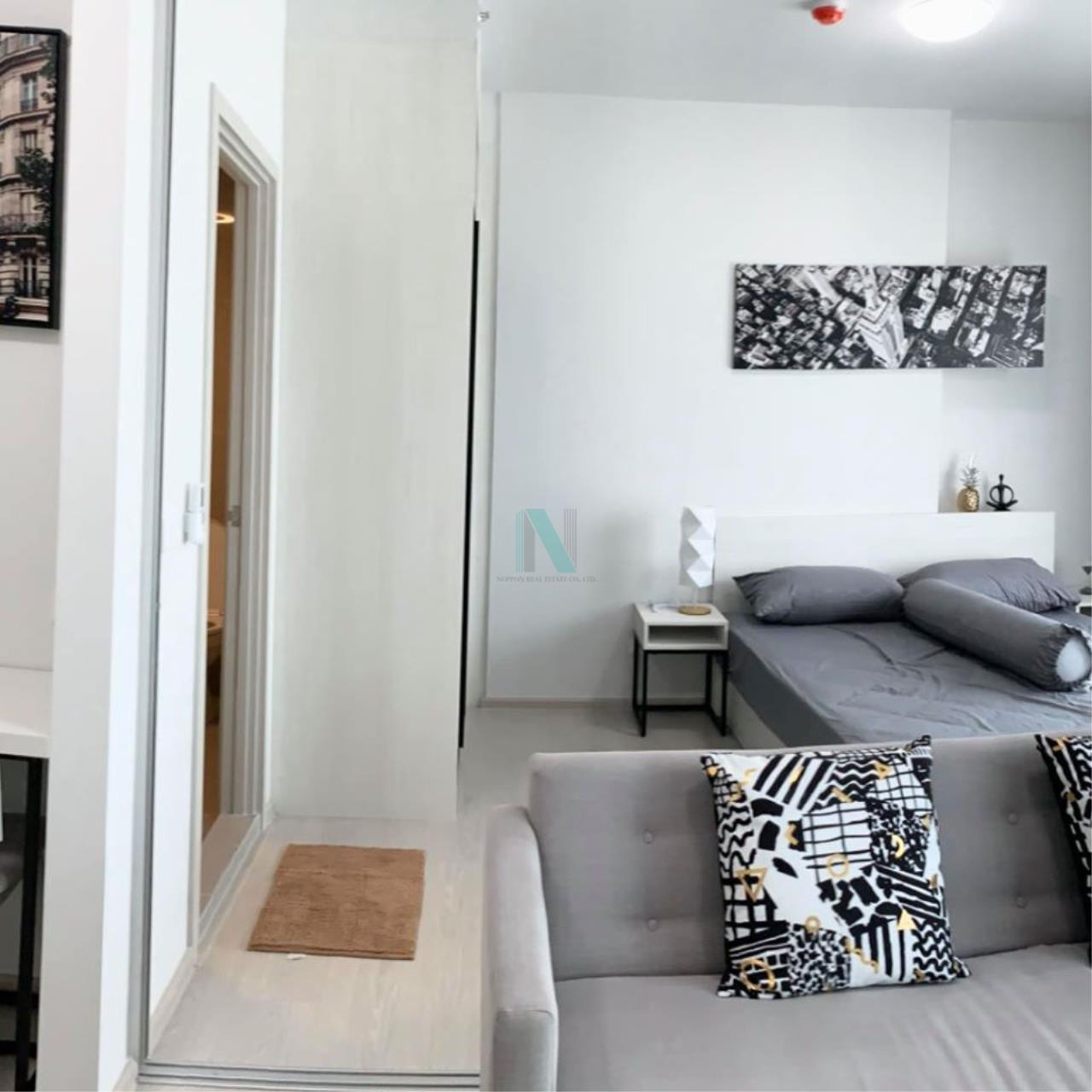 NOPPON REAL ESTATE CO.,LTD. Agency's For rent Chapter One Shine Bangpho 1 bedroom 12th floor. 2