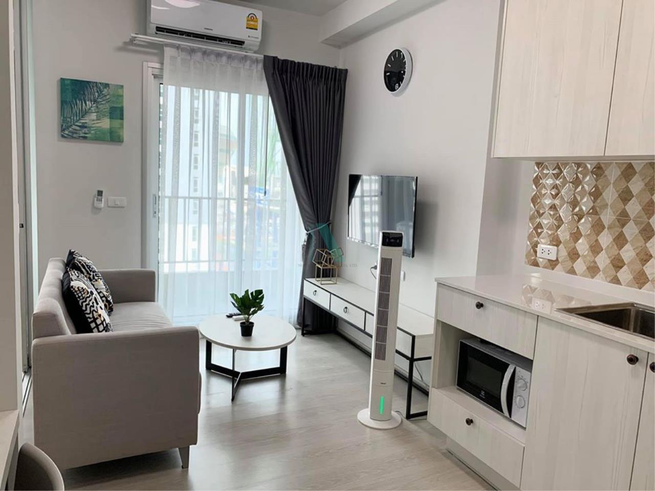 NOPPON REAL ESTATE CO.,LTD. Agency's For rent Chapter One Shine Bangpho 1 bedroom 12th floor. 4