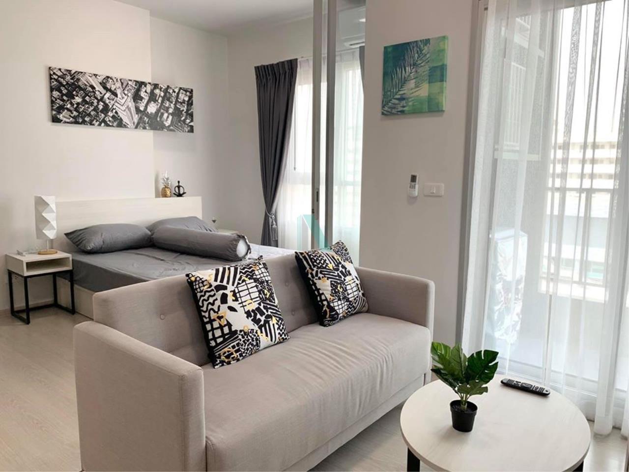 NOPPON REAL ESTATE CO.,LTD. Agency's For rent Chapter One Shine Bangpho 1 bedroom 12th floor. 6