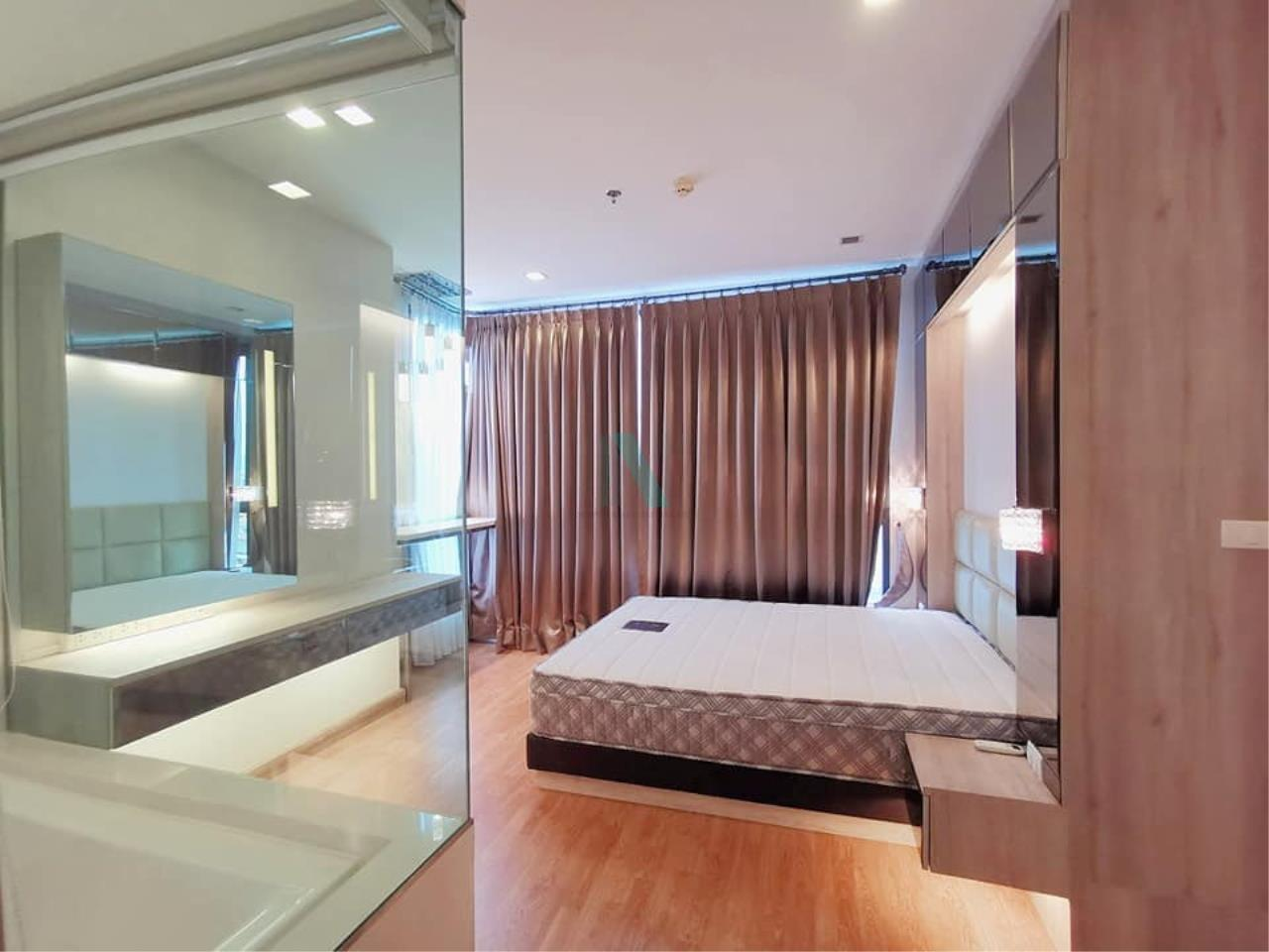 NOPPON REAL ESTATE CO.,LTD. Agency's For rent Q House Condo Sukhumvit 79 2 bedrooms 10th floor. 2