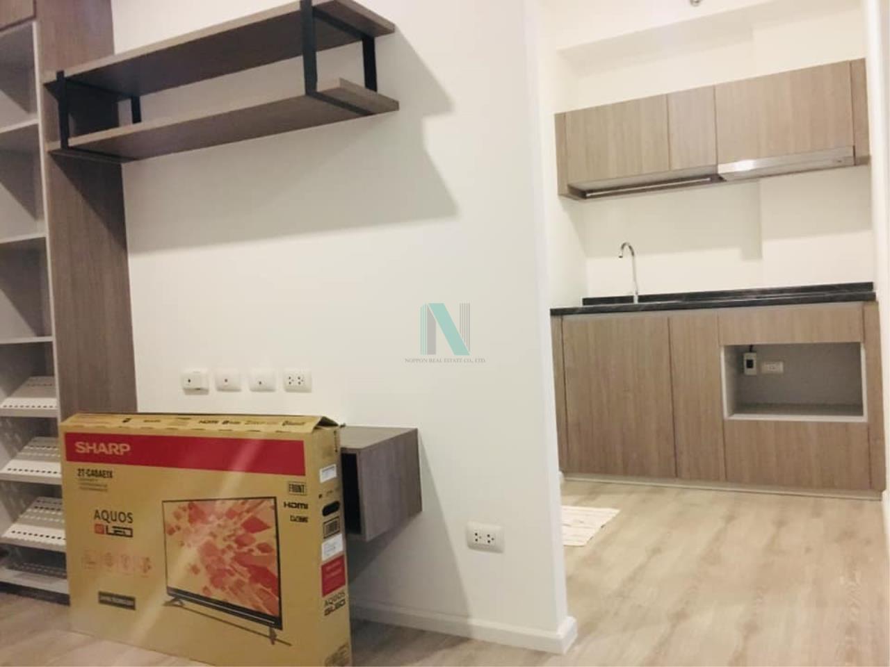 NOPPON REAL ESTATE CO.,LTD. Agency's For Rent Kensington Sukhumvit - Thepharak 1 Bedroom 7th Floor Building A. 2