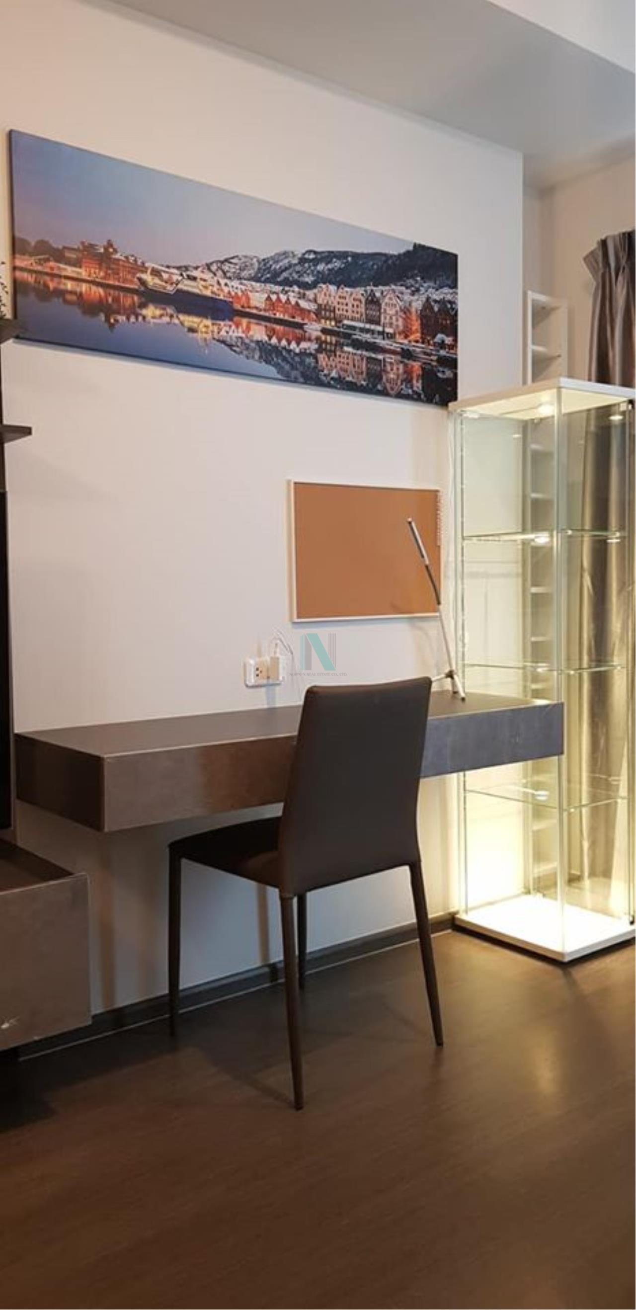 NOPPON REAL ESTATE CO.,LTD. Agency's For rent Ideo Phahon-Chatuchak 1 bedroom 25th floor near BTS Saphan Khwai. 3