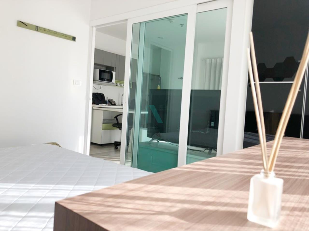 NOPPON REAL ESTATE CO.,LTD. Agency's For rent The Key Chaengwattana 1 bedroom 3rd floor Building A. 3