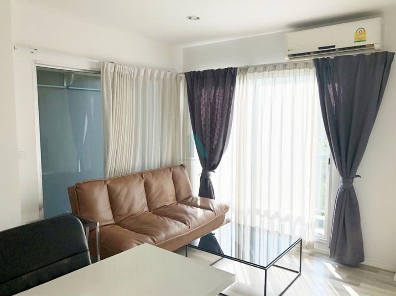 NOPPON REAL ESTATE CO.,LTD. Agency's For rent The Key Chaengwattana 1 bedroom 3rd floor Building A. 7