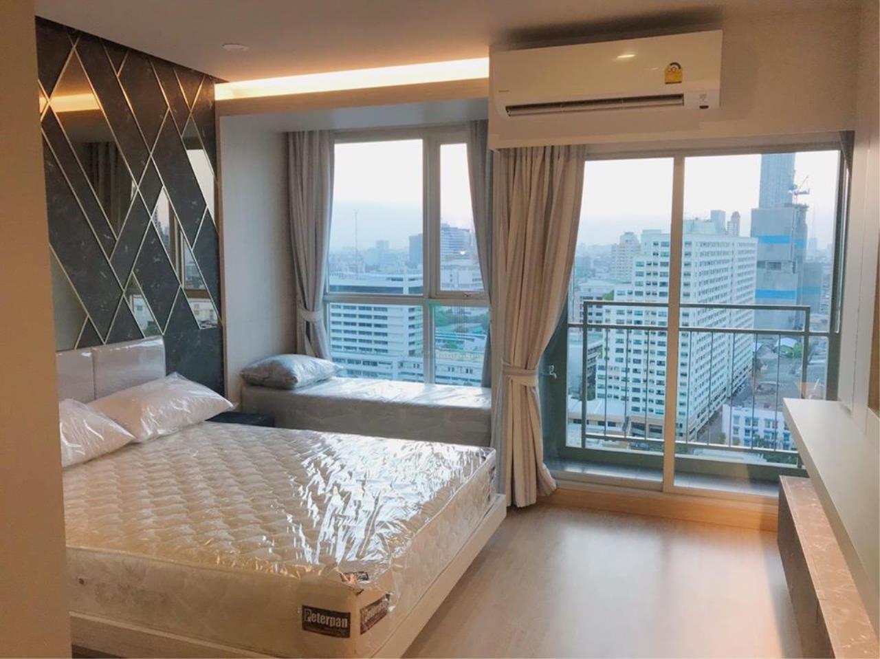 NOPPON REAL ESTATE CO.,LTD. Agency's For rent Lumpini Select Suthisarn-Saphan Khwai STUDIO 20th floor. 1