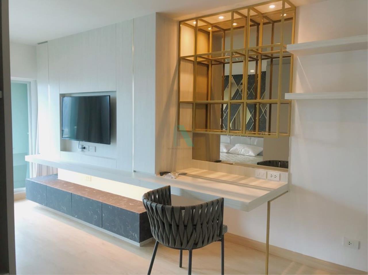 NOPPON REAL ESTATE CO.,LTD. Agency's For rent Lumpini Select Suthisarn-Saphan Khwai STUDIO 20th floor. 3