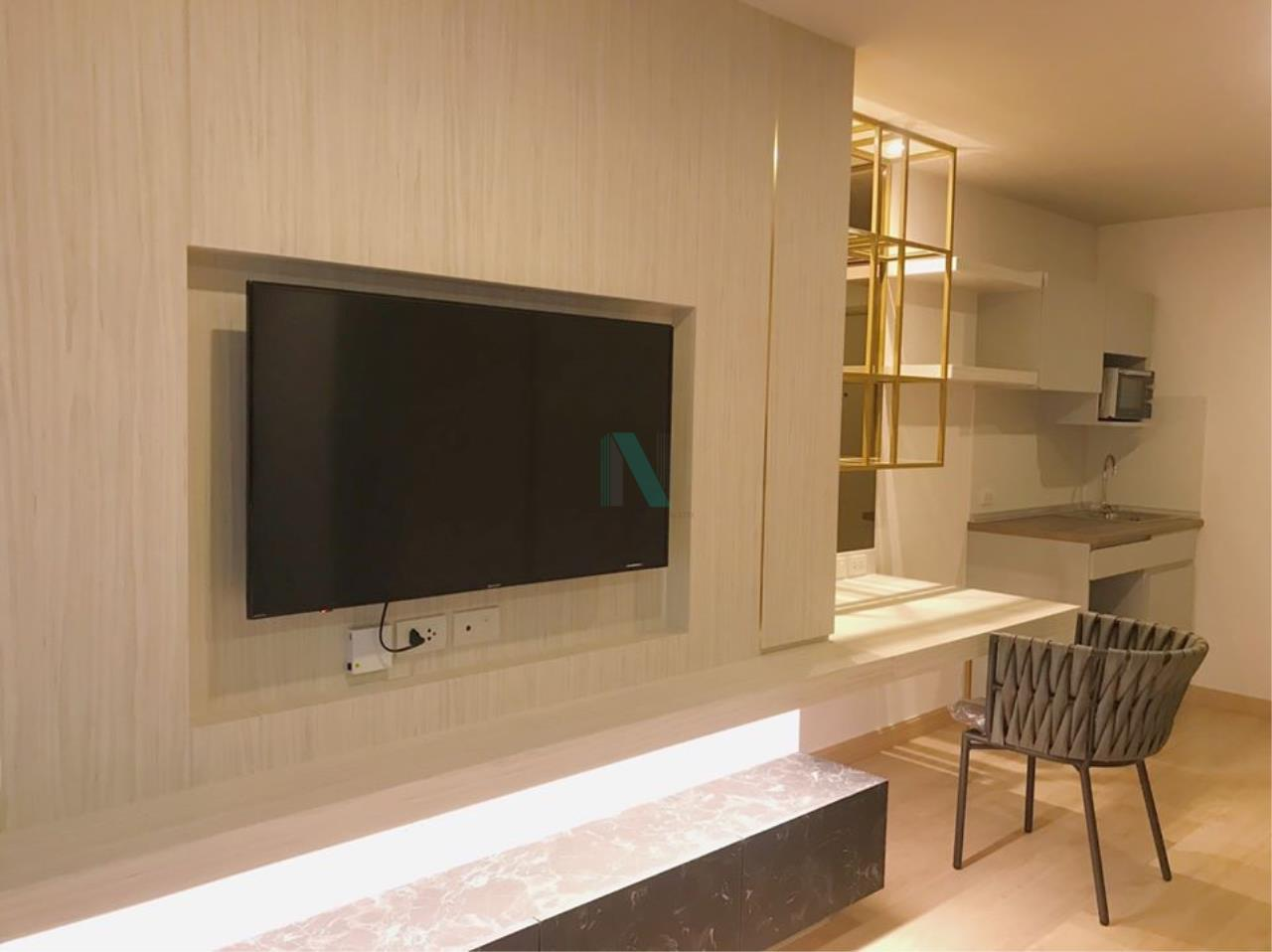 NOPPON REAL ESTATE CO.,LTD. Agency's For rent Lumpini Select Suthisarn-Saphan Khwai STUDIO 20th floor. 8