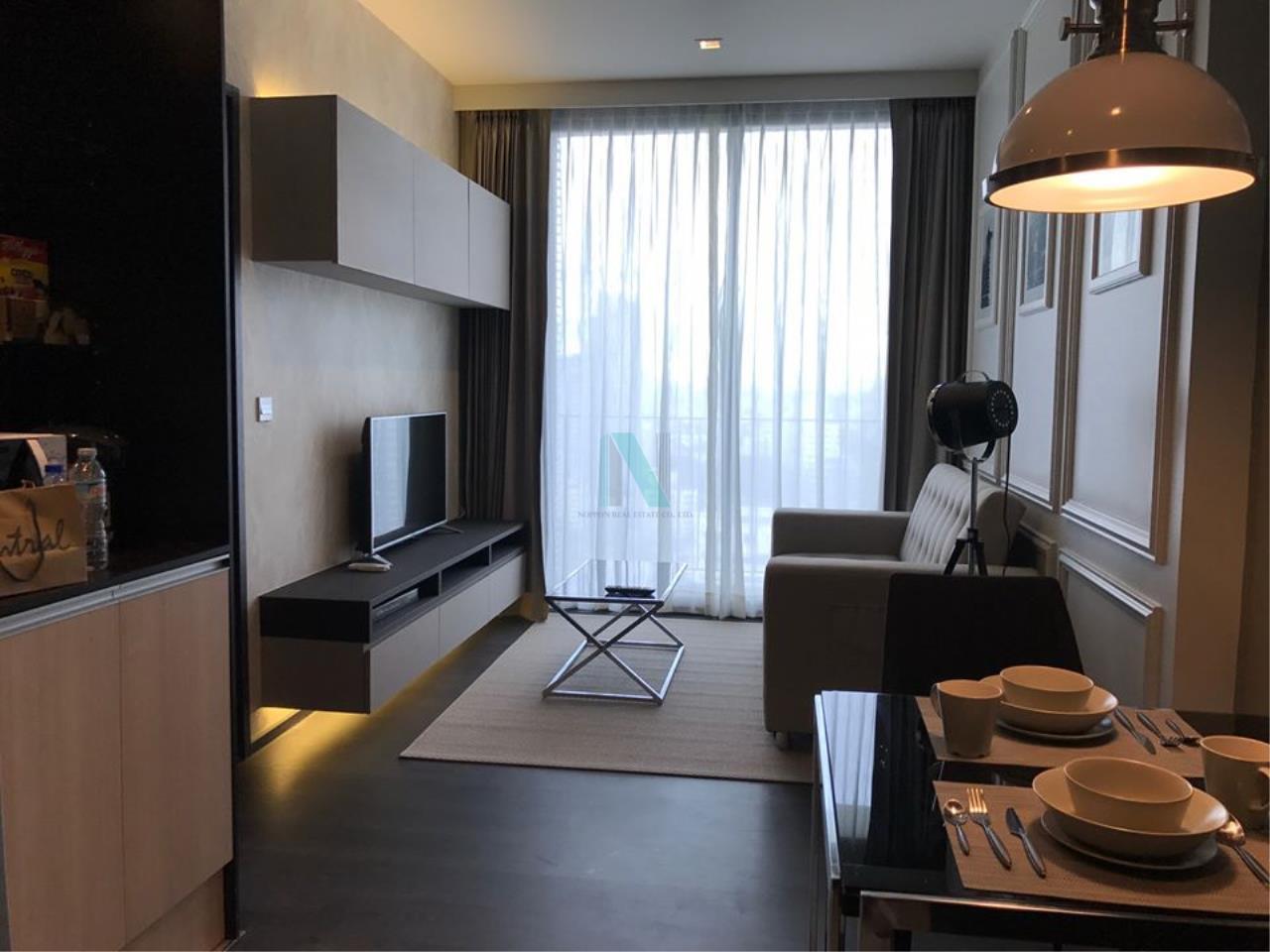 NOPPON REAL ESTATE CO.,LTD.  Agency's For rent Edge Sukhumvit 23 1 bedroom 19th floor near MRT Sukhumvit. 8