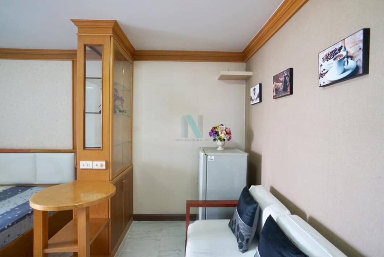 NOPPON REAL ESTATE CO.,LTD. Agency's For rent Ratchada City 18 STUDIO 7th Floor nearChanthaburi Bam Phen School 2