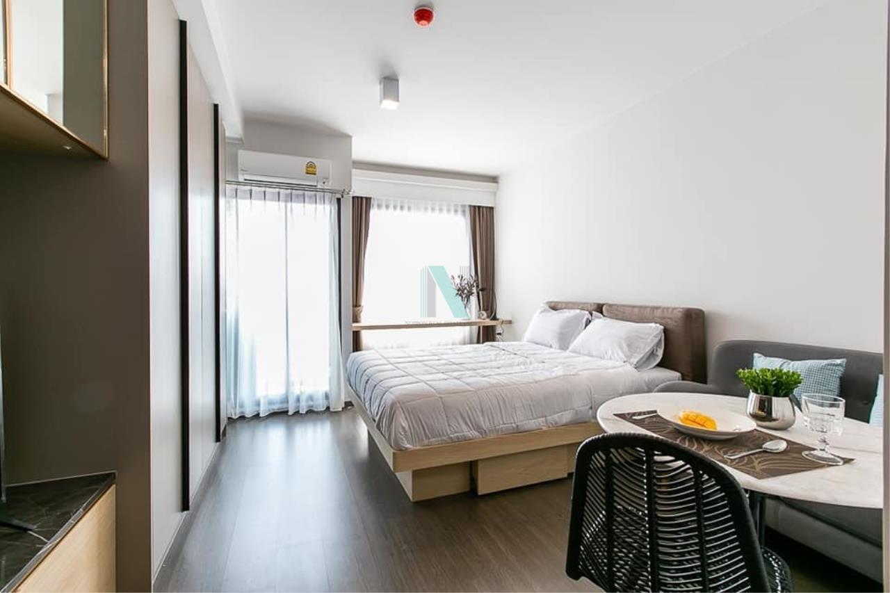 NOPPON REAL ESTATE CO.,LTD. Agency's For rent Ideo Sukhumvit 93 STUDIO Floor 15 Building B near BTS Bang Chak. 1
