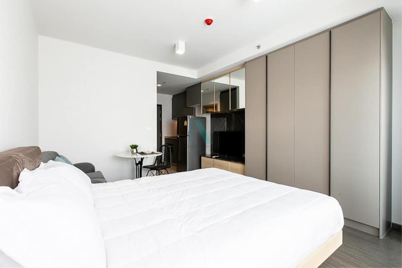 NOPPON REAL ESTATE CO.,LTD. Agency's For rent Ideo Sukhumvit 93 STUDIO Floor 15 Building B near BTS Bang Chak. 4