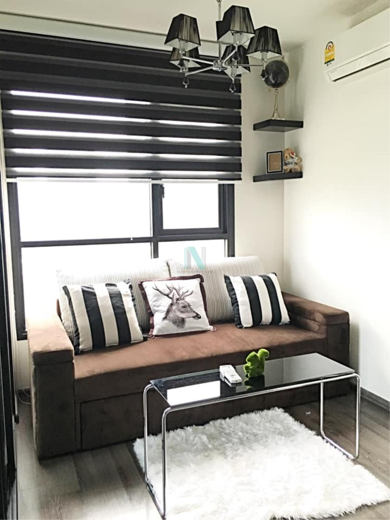 NOPPON REAL ESTATE CO.,LTD. Agency's For Rent The Base Park East Sukhumvit 77 1 bedroom 8th floor. 1