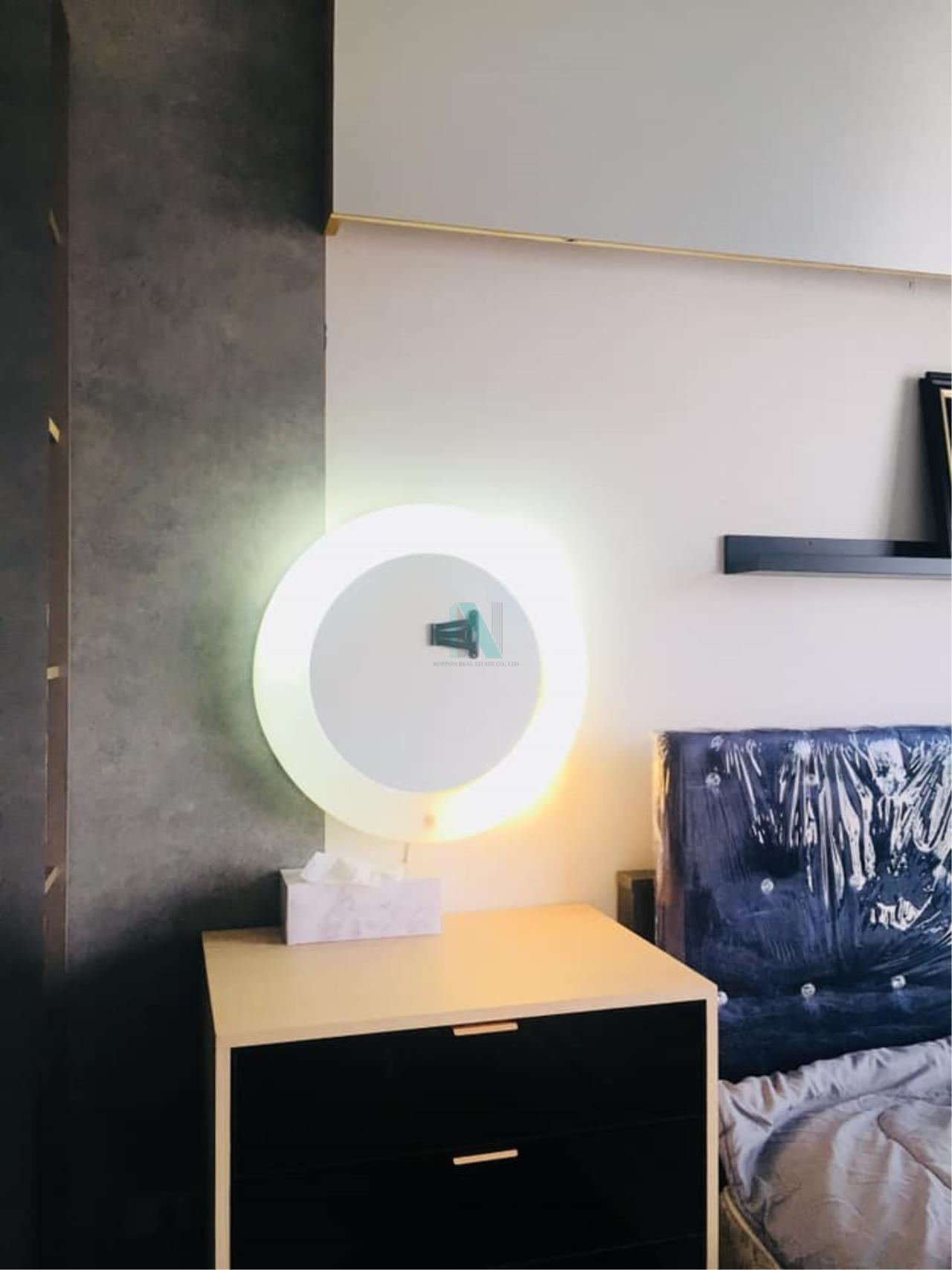 NOPPON REAL ESTATE CO.,LTD. Agency's For Rent The Base Park East Sukhumvit 77 1 bedroom 8th floor. 3