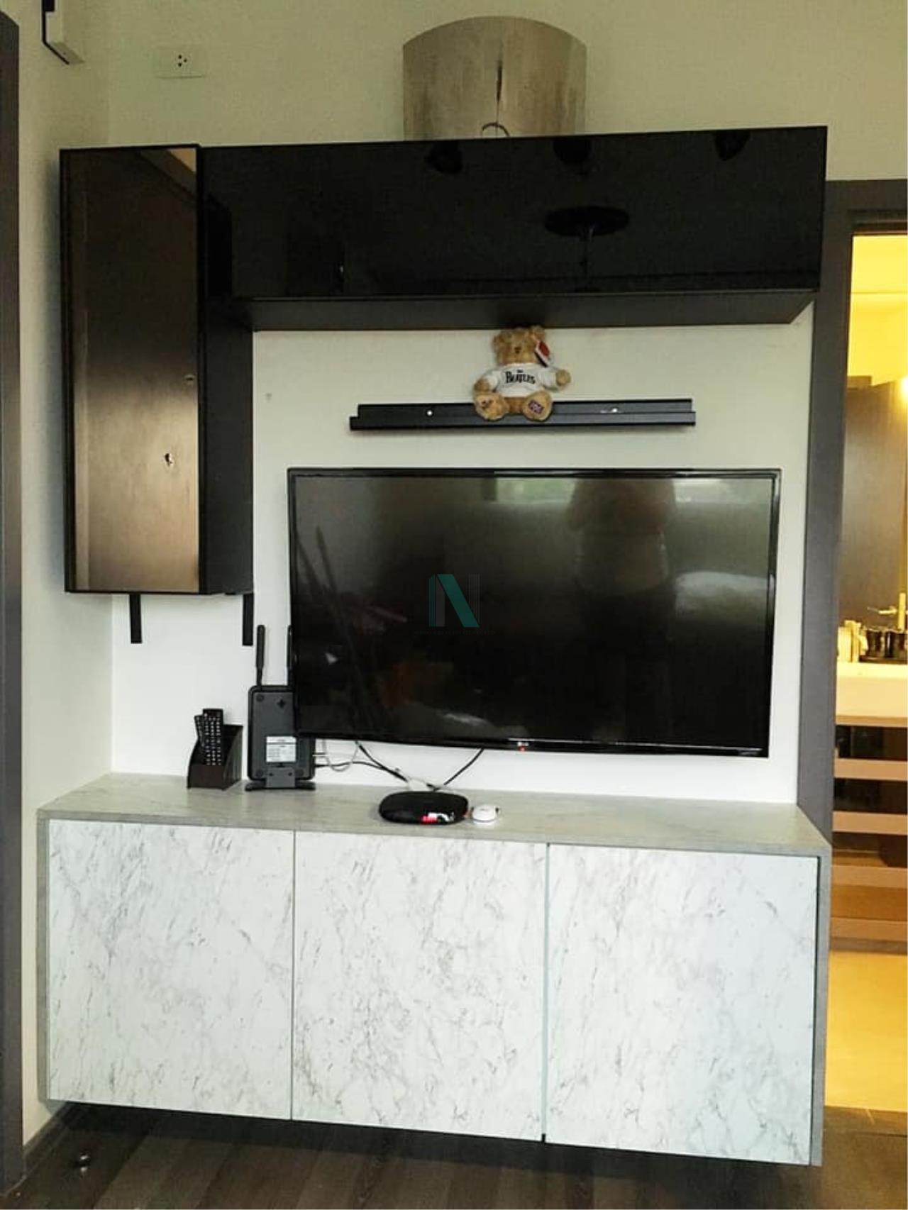 NOPPON REAL ESTATE CO.,LTD. Agency's For Rent The Base Park East Sukhumvit 77 1 bedroom 8th floor. 6