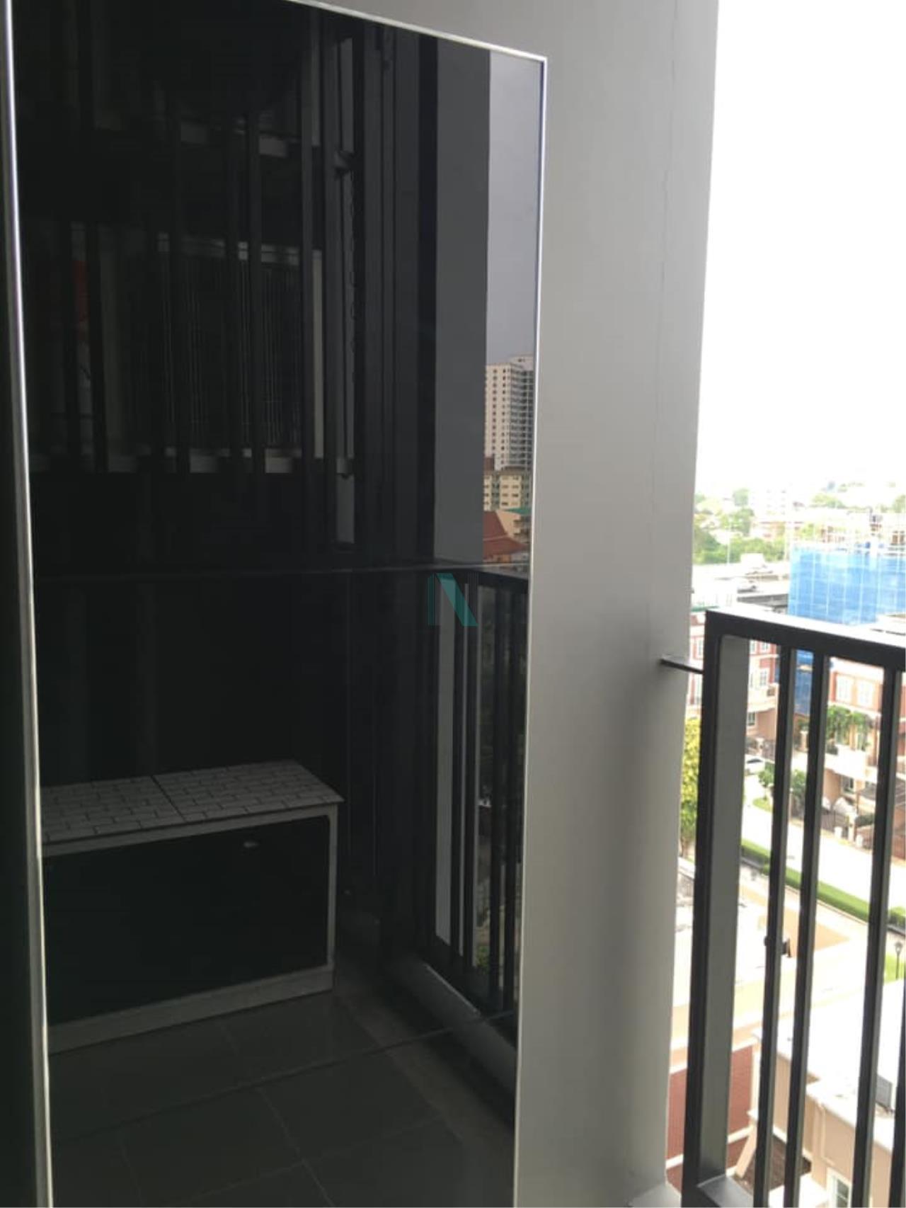NOPPON REAL ESTATE CO.,LTD. Agency's For Rent The Base Park East Sukhumvit 77 1 bedroom 8th floor. 8