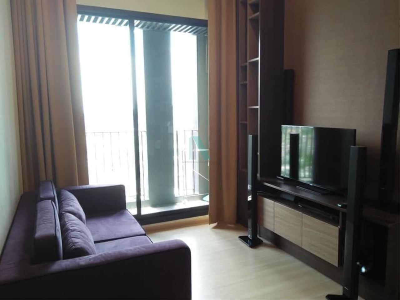 NOPPON REAL ESTATE CO.,LTD. Agency's For Rent The Capital Ekamai-Thonglor 2 bedroom 24th floor. 1