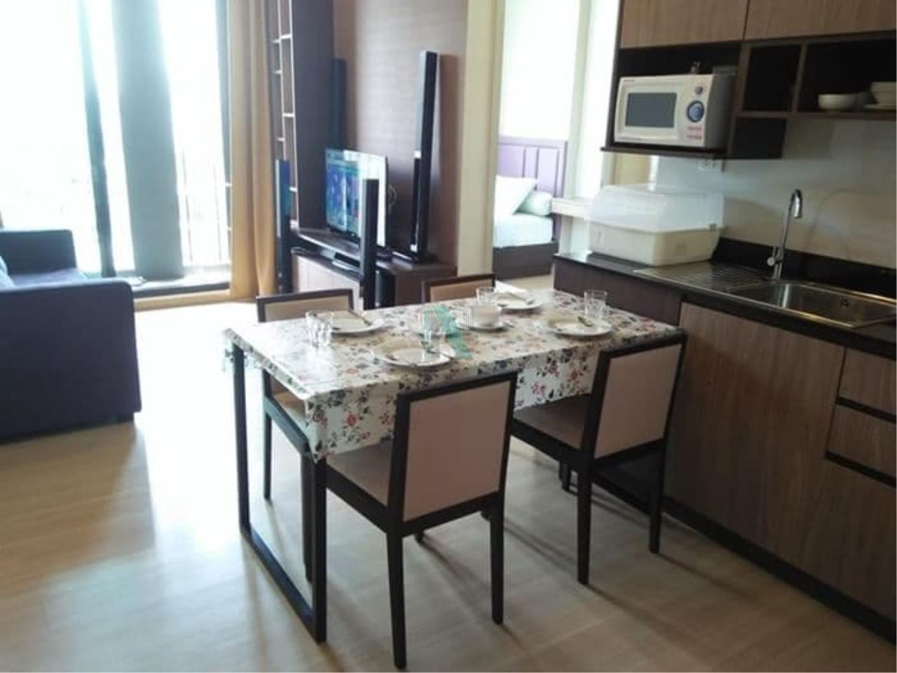 NOPPON REAL ESTATE CO.,LTD. Agency's For Rent The Capital Ekamai-Thonglor 2 bedroom 24th floor. 2