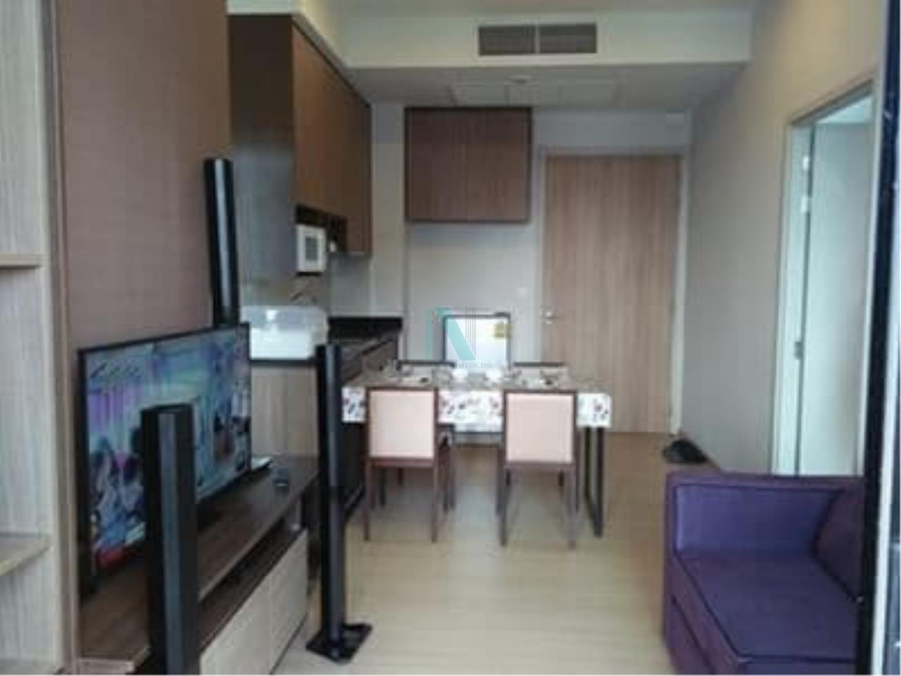 NOPPON REAL ESTATE CO.,LTD. Agency's For Rent The Capital Ekamai-Thonglor 2 bedroom 24th floor. 6