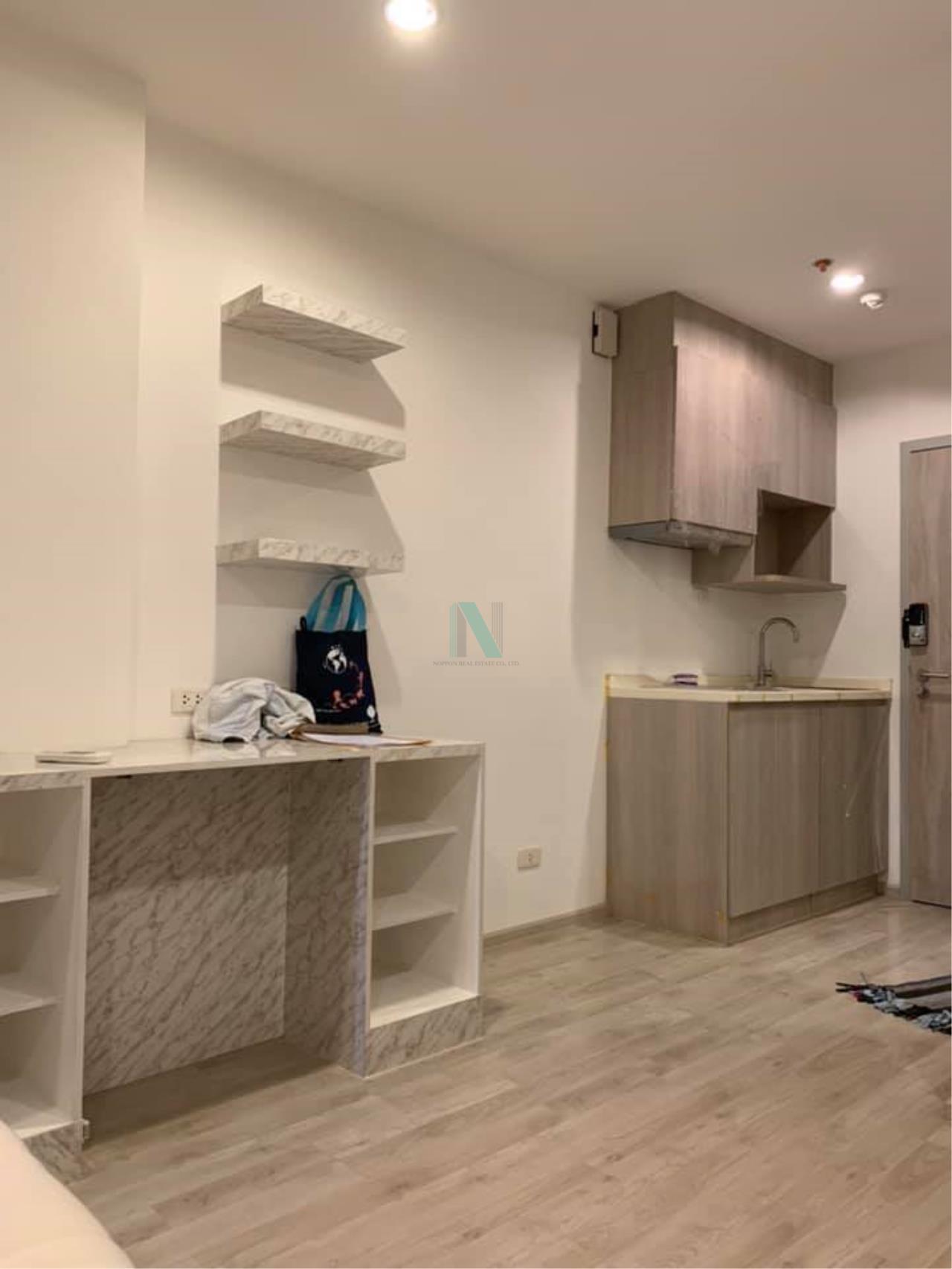 NOPPON REAL ESTATE CO.,LTD.  Agency's For rent Ideo Mobi Charan-Interchange STUDIO 5th floor. 2