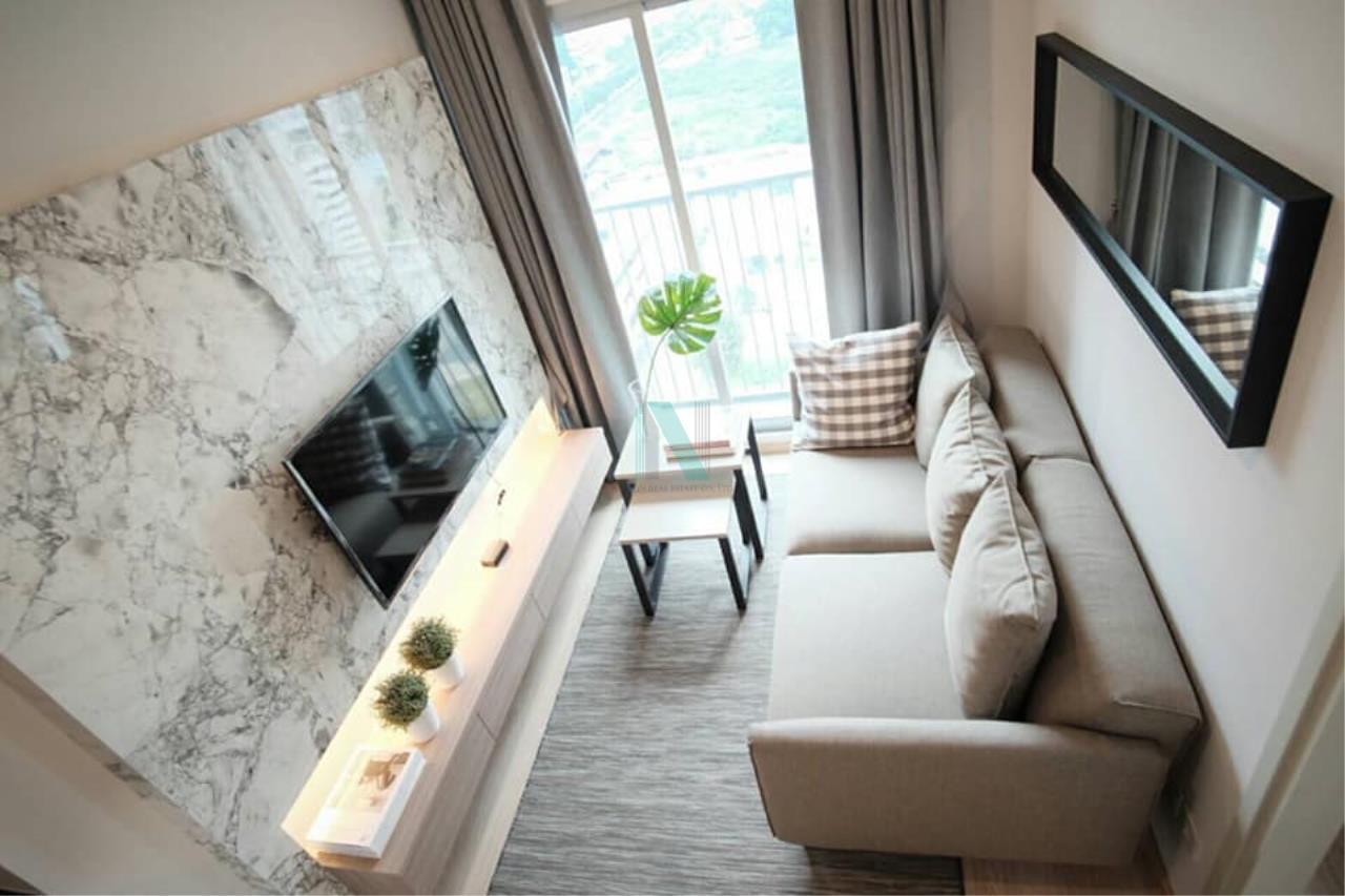NOPPON REAL ESTATE CO.,LTD.  Agency's For rent Noble Revolve Ratchada 1 bedroom 14th floor . 2